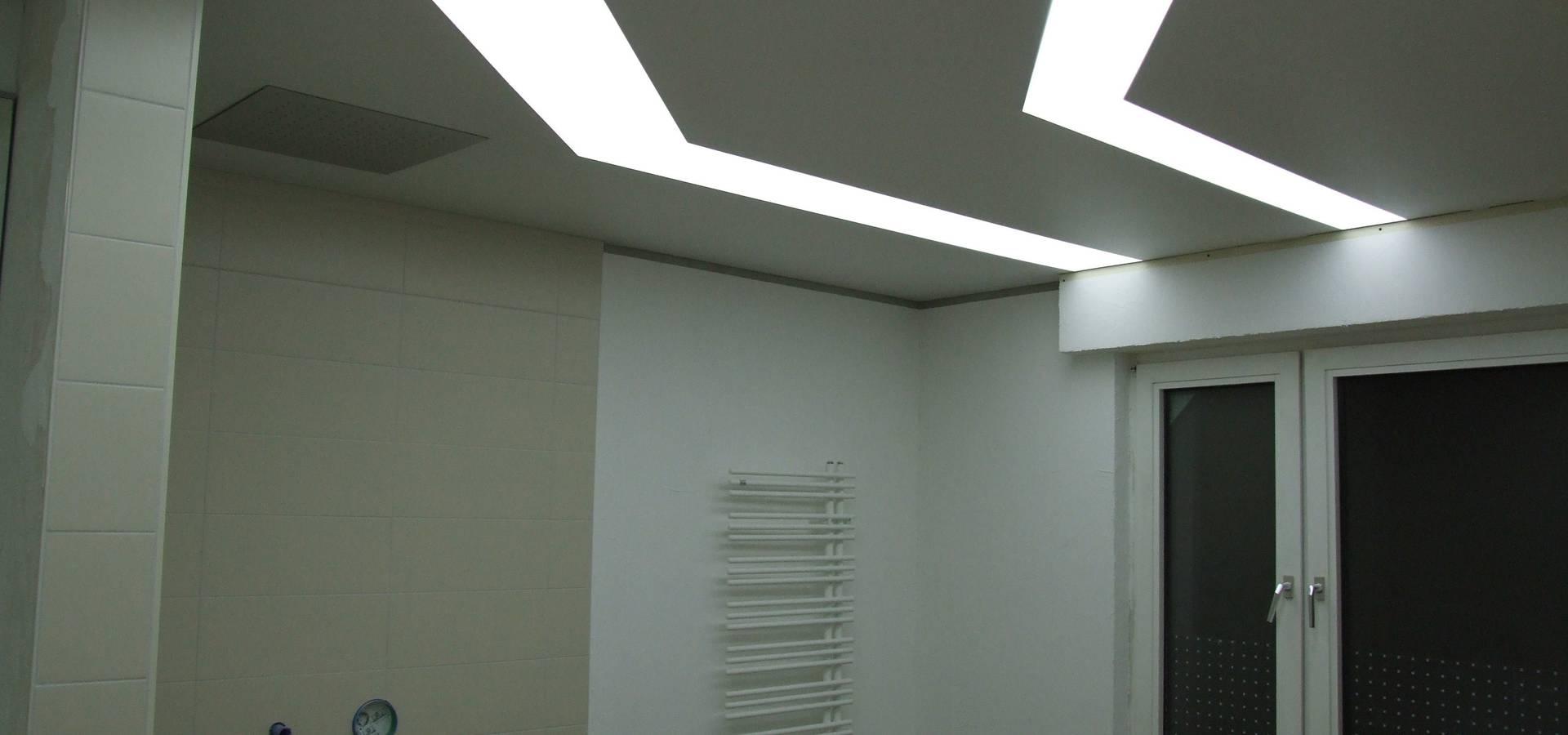 Decken wand verkleidung von decken design homify for Badezimmer decken design