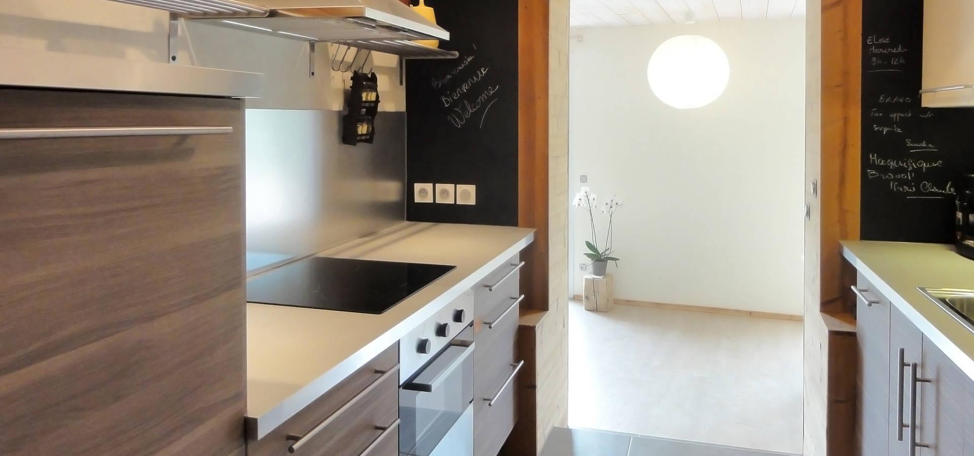 Cuisine Ikea Bois Et Moderne By Cosyneve Amandine Revel Homify