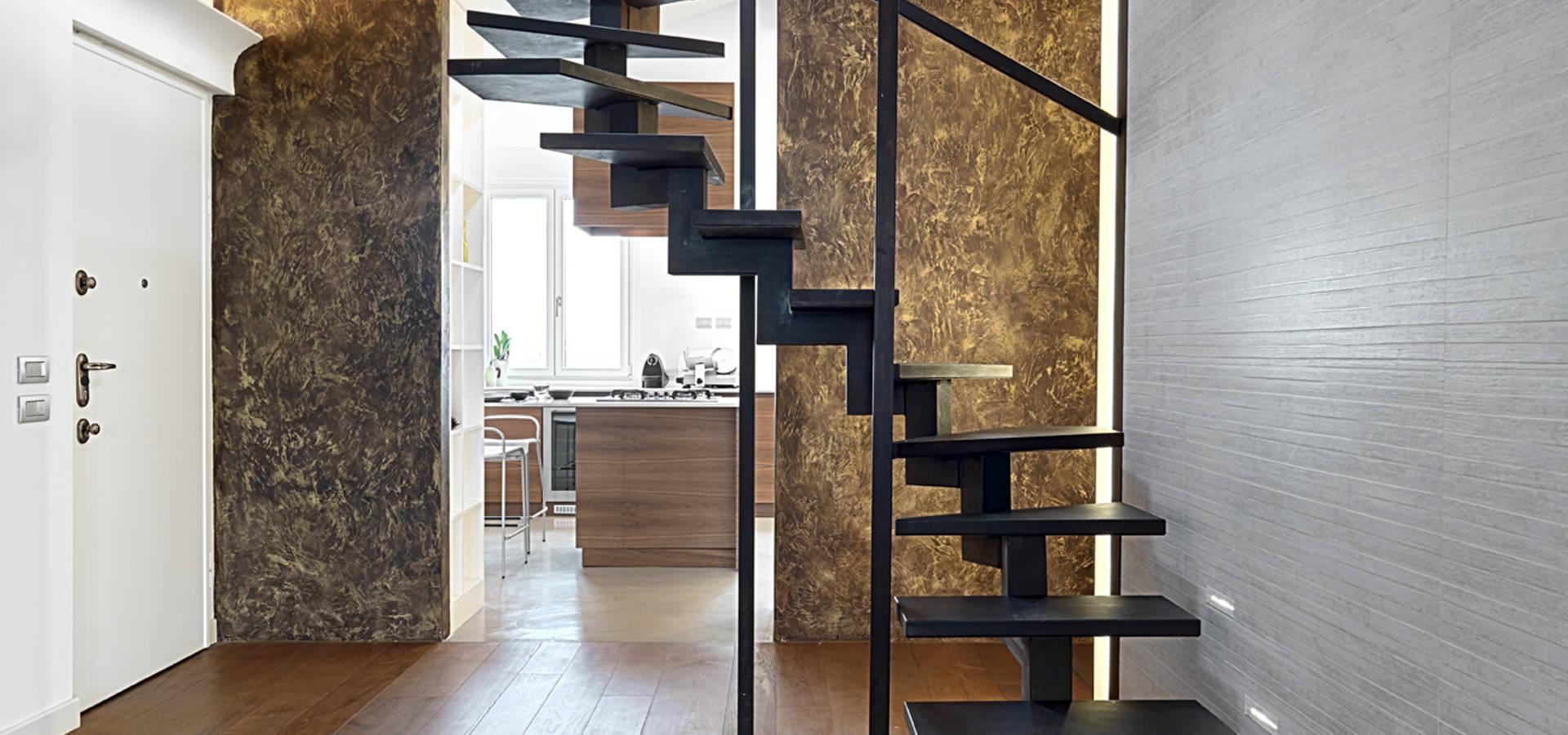 Abitazione su pi piani di d3 architetti associati homify for Piani domestici contempory