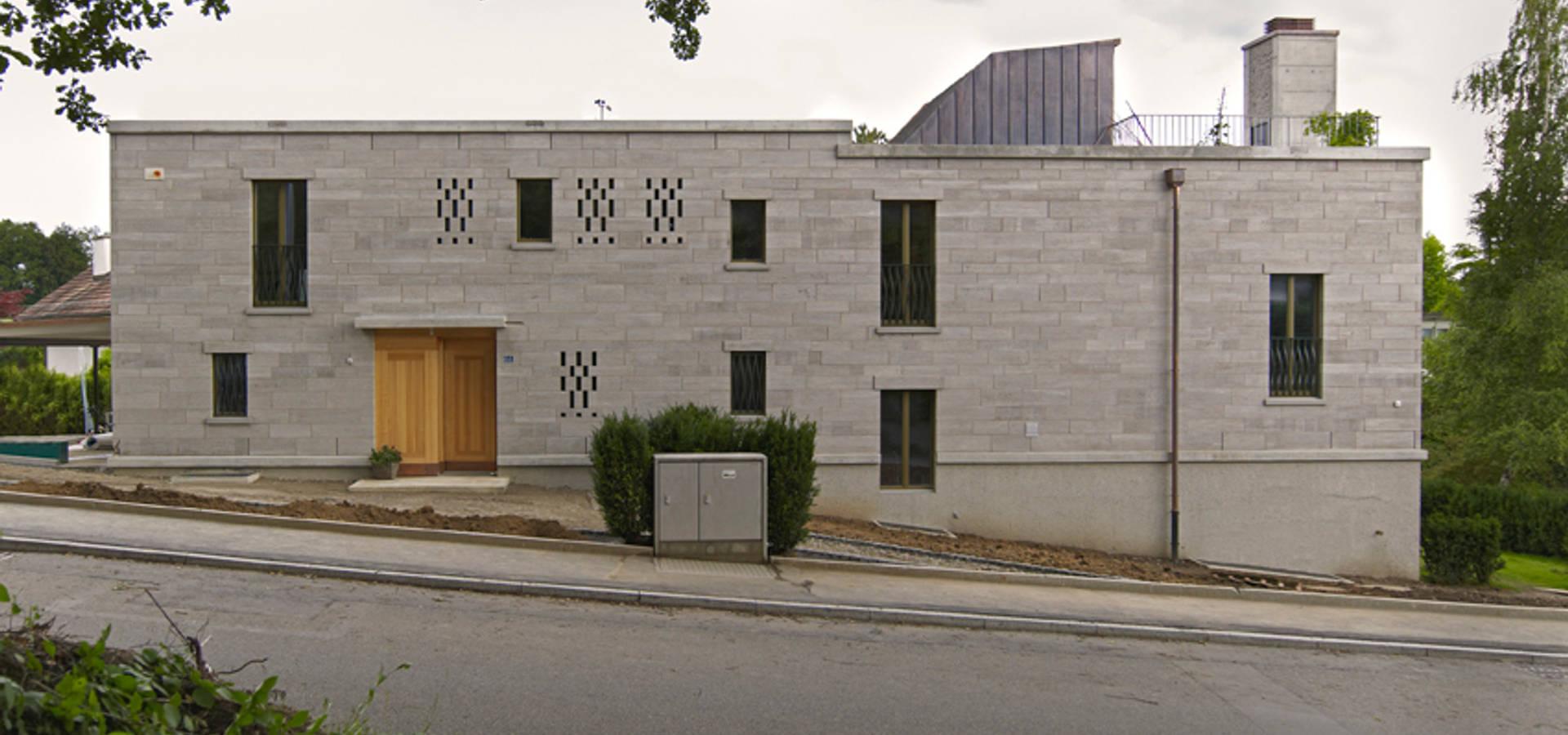 Meister Architektur wohnhaus in küsnacht 2010 by käferstein meister dipl