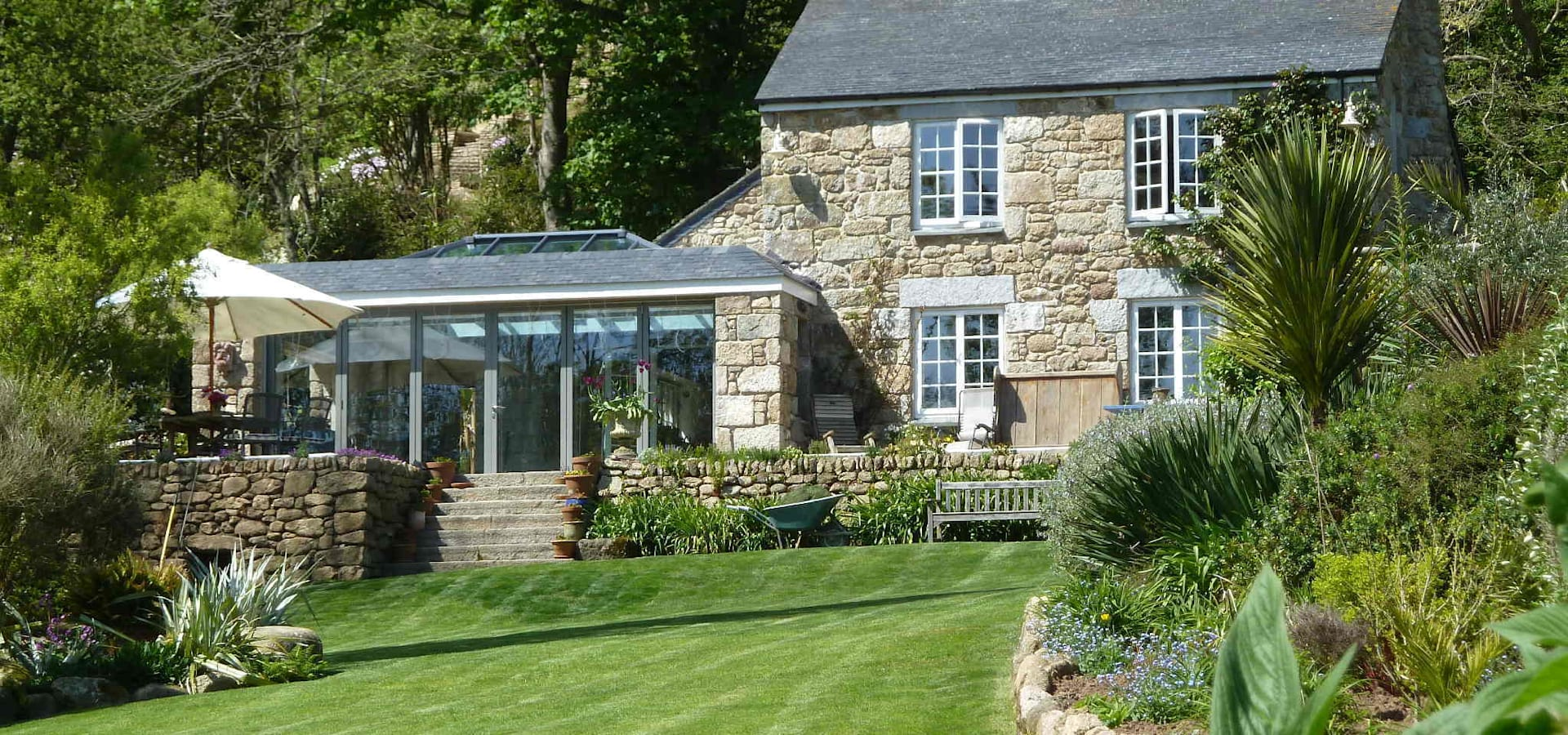 Barns conversion cosawes barton ponsanooth di lilly for Case in stile cottage
