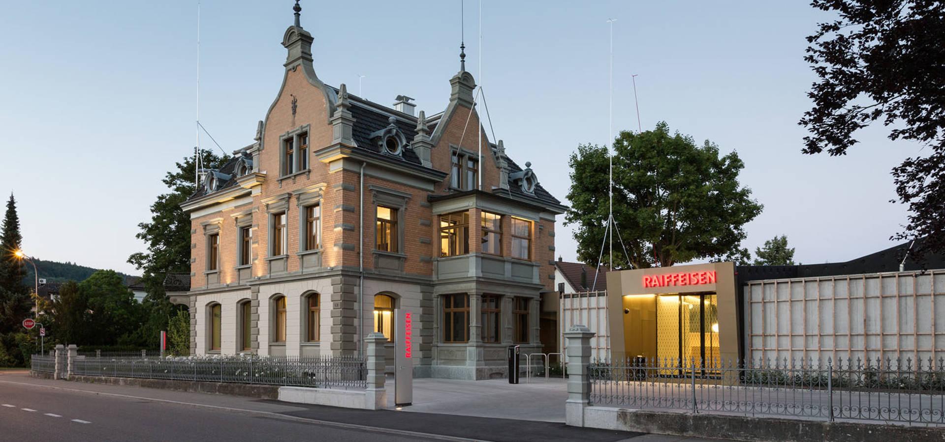 Architekten Rosenheim raiffeisenbank villa rosenheim diessenhofen schweiz by moos