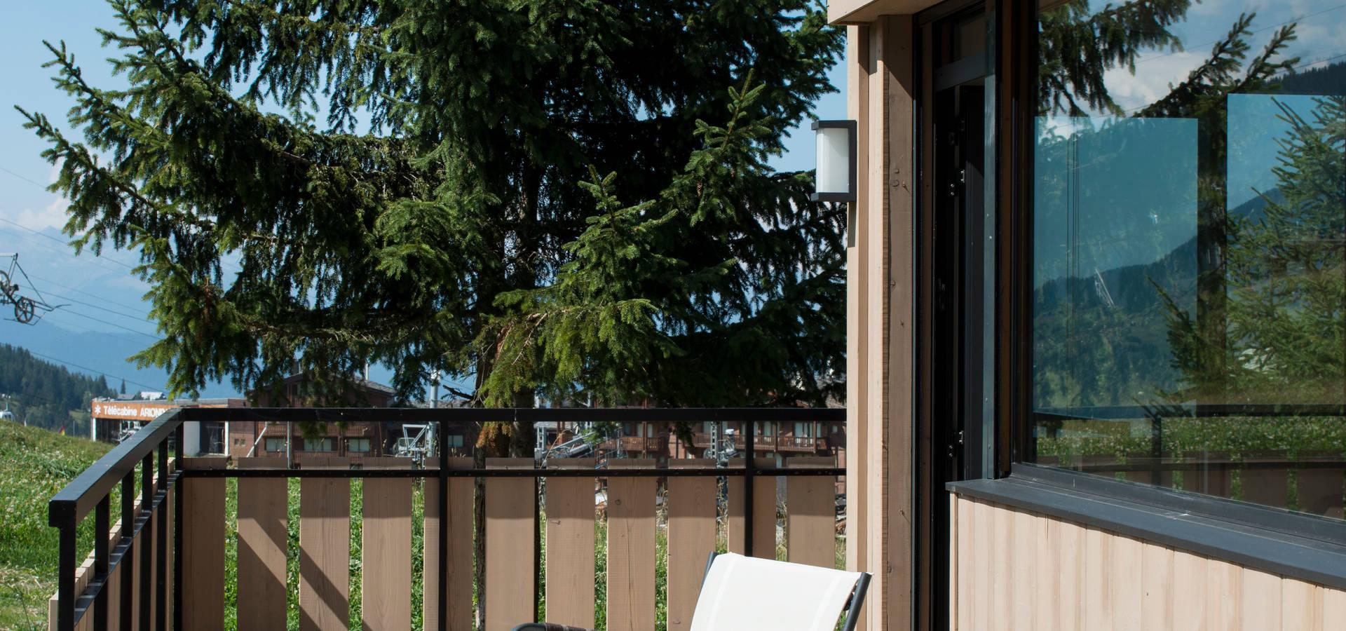a2 architecture d 39 interieur chalet courchevel homify. Black Bedroom Furniture Sets. Home Design Ideas