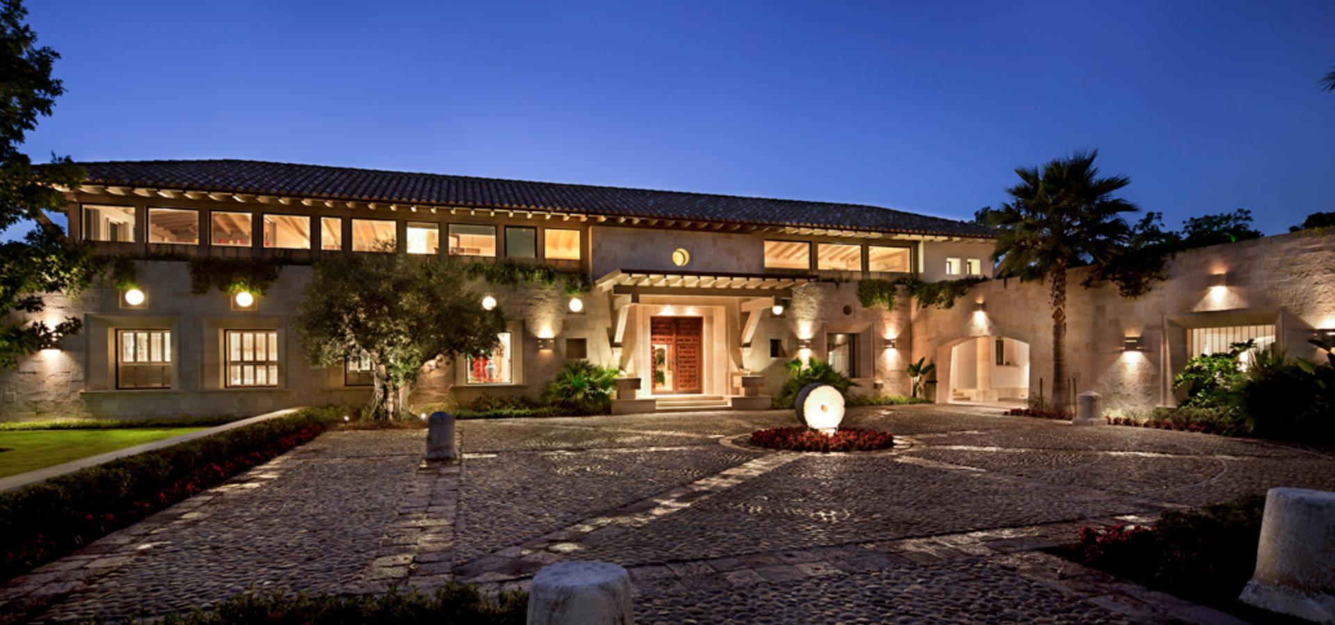 Casa artigas di artigas arquitectos homify for Case in stile hacienda