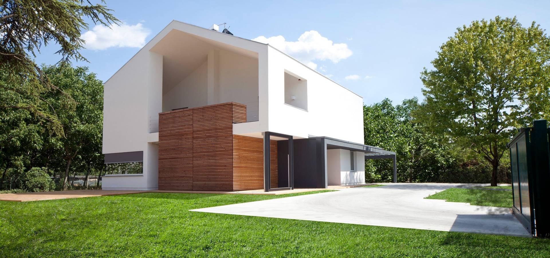 Casa unifamiliare von eiland homify for Progetti di casa moderna