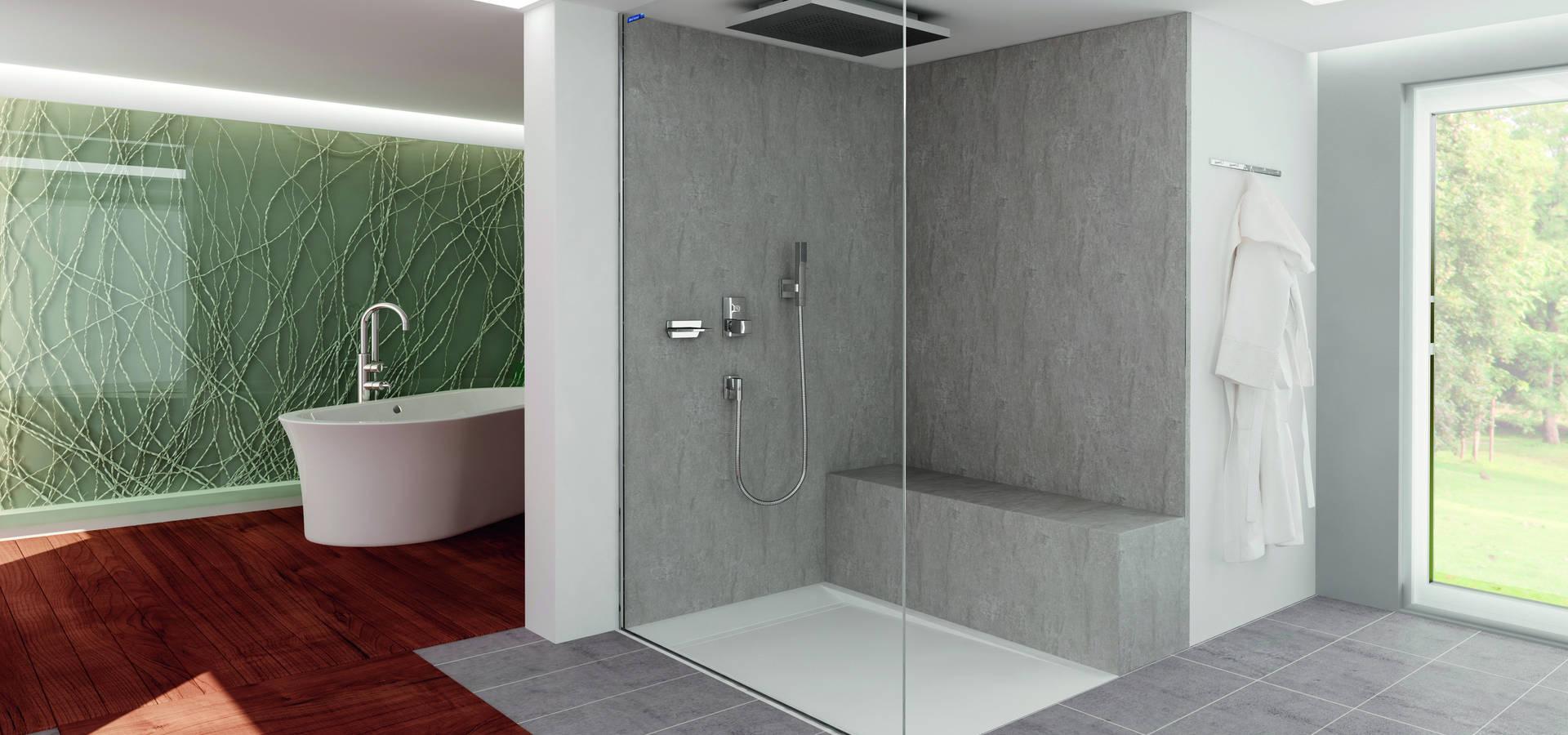 duschkabine air von duscholux sanit rprodukte gmbh homify. Black Bedroom Furniture Sets. Home Design Ideas