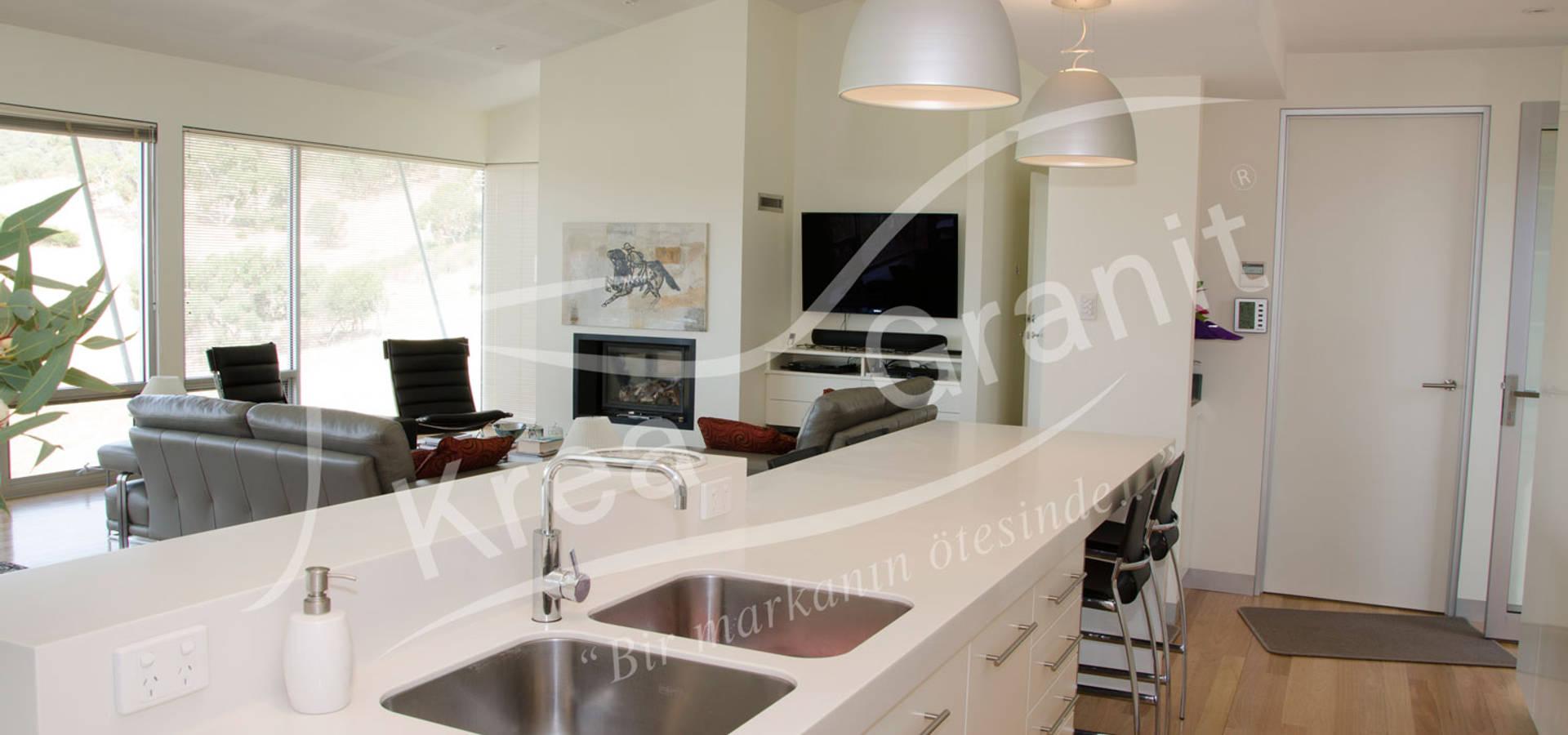 KREA Granit  Mutfak Banyo Tezgahları