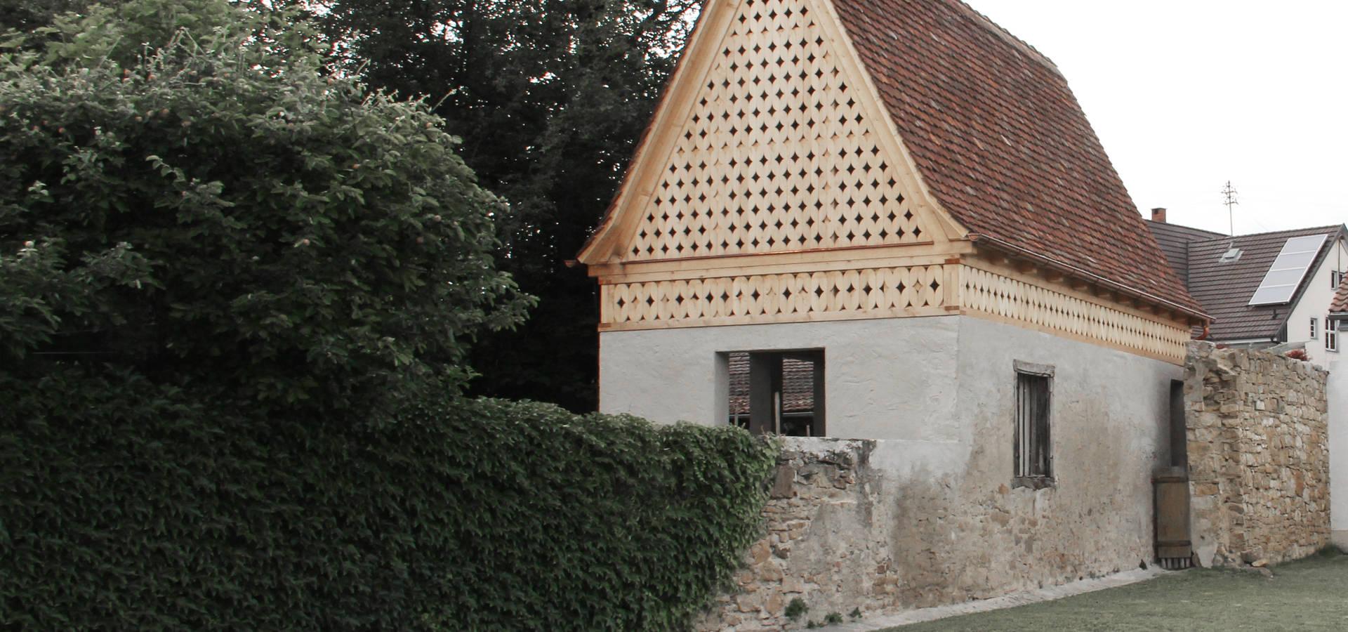 Gartenhaus bei freiburg by v csey schmidt architekten homify - Schmidt architekten ...