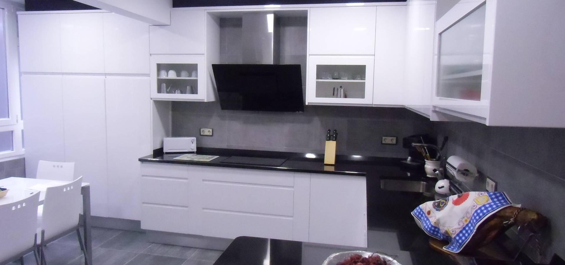 Muebles de cocina de cocinas y ba os myc homify for Banos y cocinas uruguay