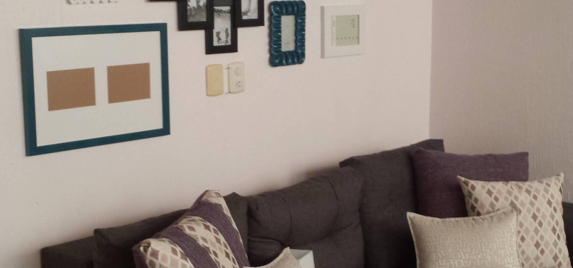 La sala, la sala de TV y la recamara del bebe von Paola Hernandez ...