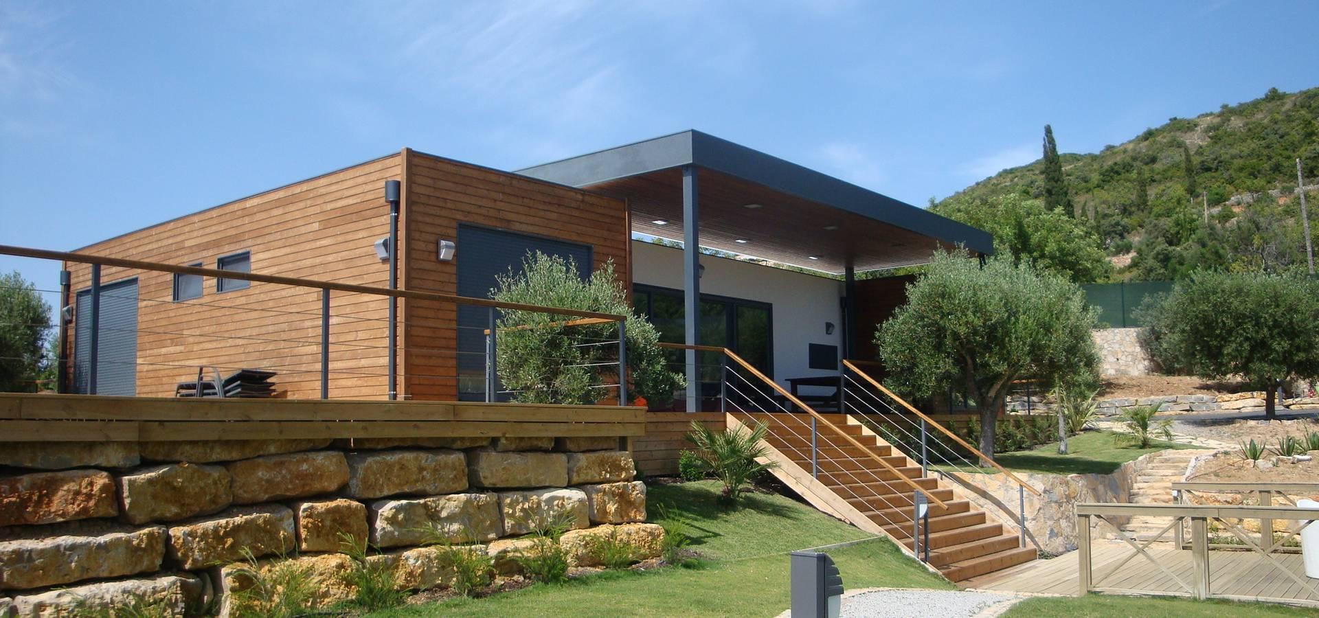 Casas modulares amoviveis por kitur homify for Casas prefabricadas modernas