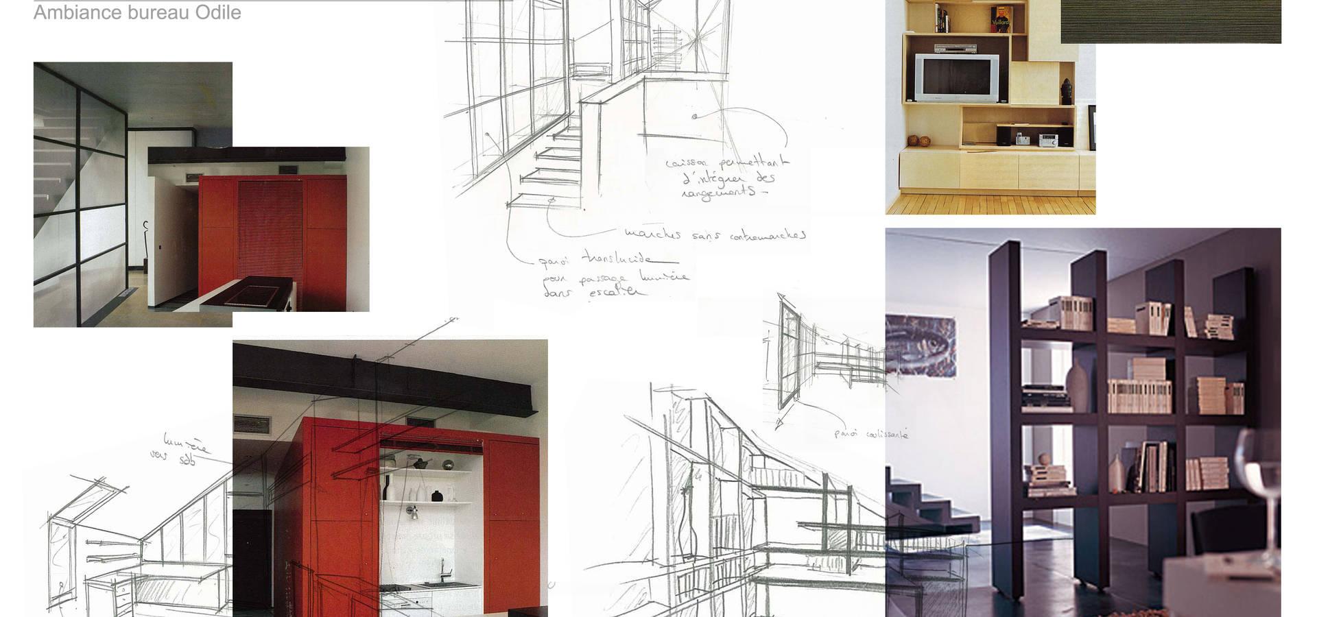 Concept d 39 habitat colocatif un toit pour 2 by kauri for Ancienne maison cutlery