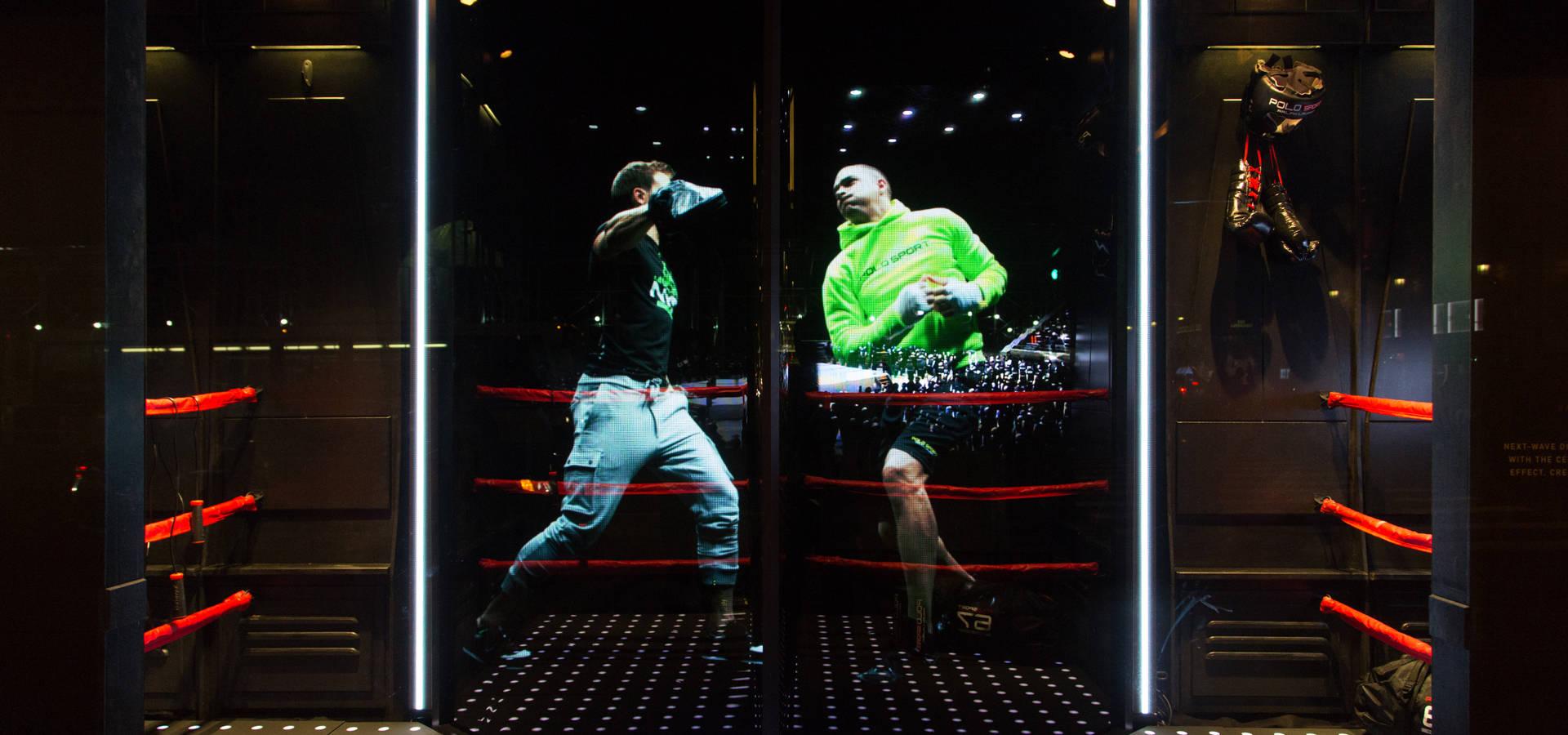 Ralph Lauren Holographic Window Display By Cinimod Studio Homify # Muebles Ralph Lauren Espana