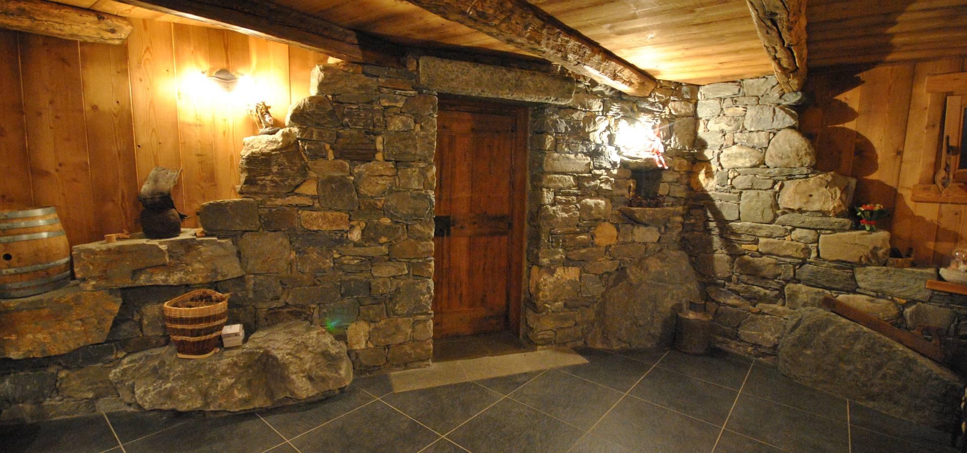 Taverna di montagna by sangineto s r l homify for Piani casa montagna colorado