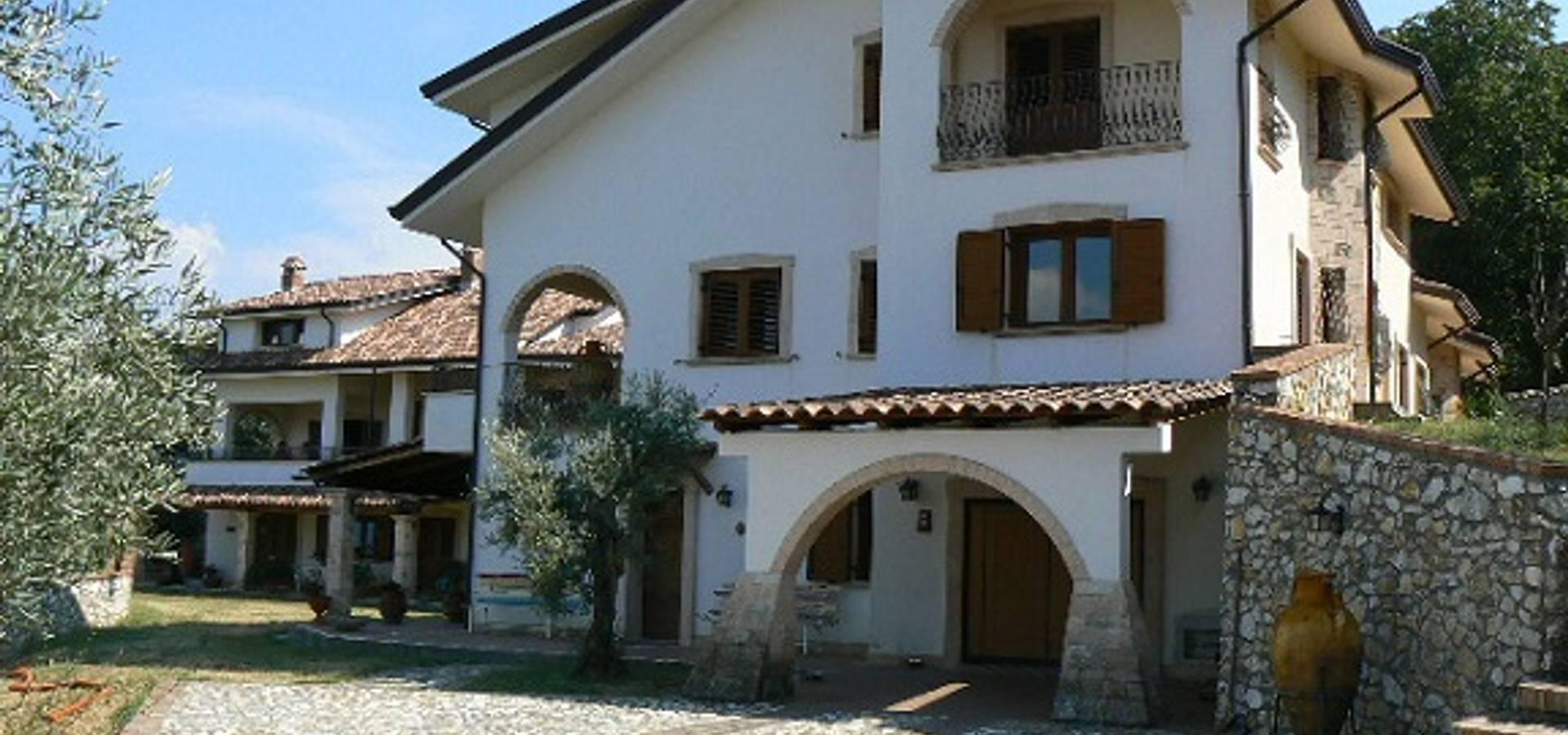 Casa in legno profesjonalista architetto giovanni marra for Case di architettura spagnola