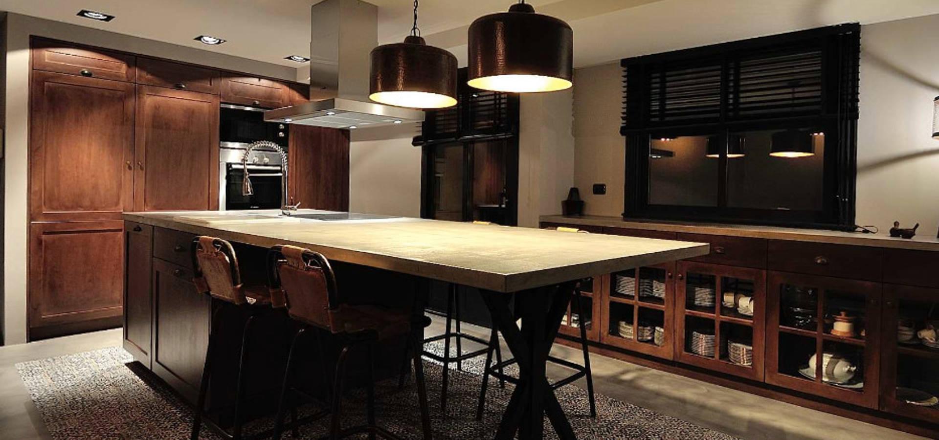Cocina industrial by mido decoraci n homify - Cocina industrial ...