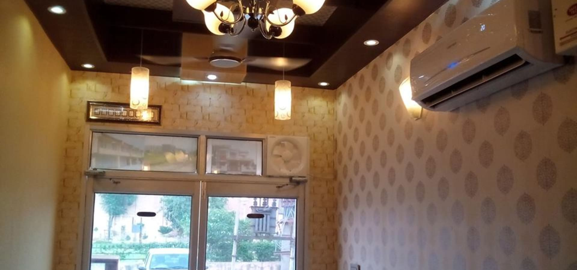 Ceiling And Wall Designing Using Pvc