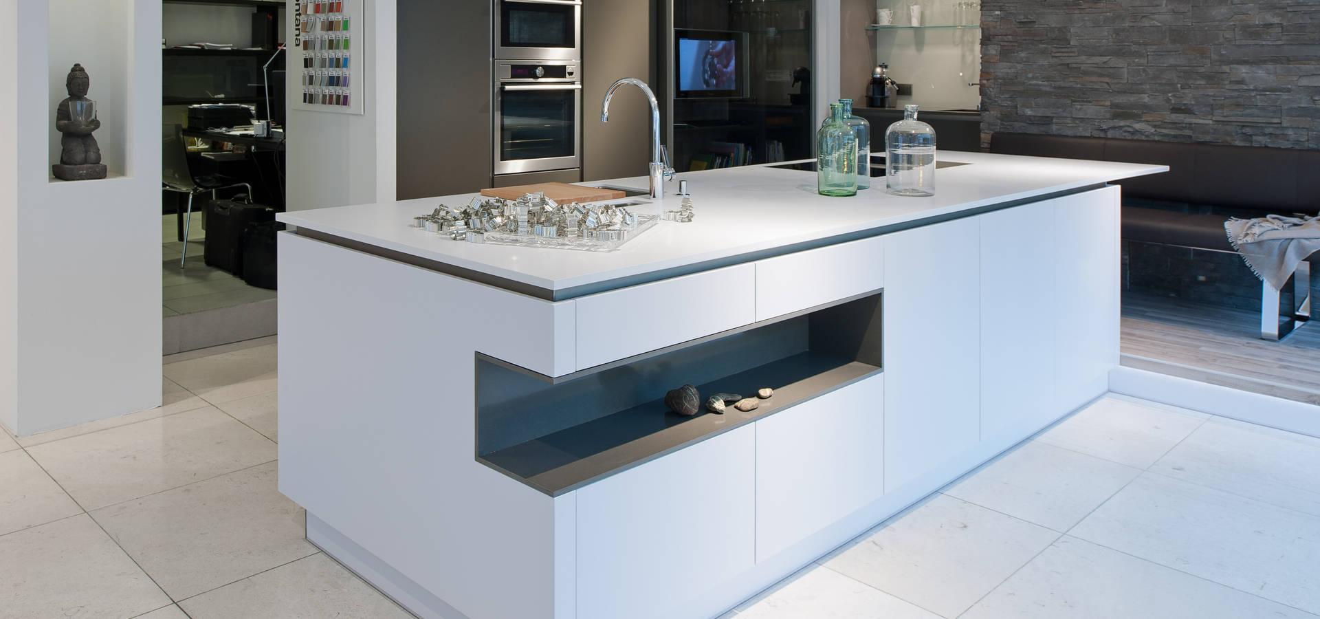 H&H Wintner Design & Wohnen: Küche in unserem Showroom | homify | {Design einbauküche 11}