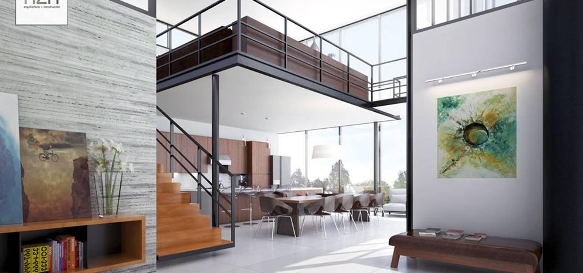 Dise o interior y rea social de hzh arquitectura dise o homify - Arquitectura y diseno ...