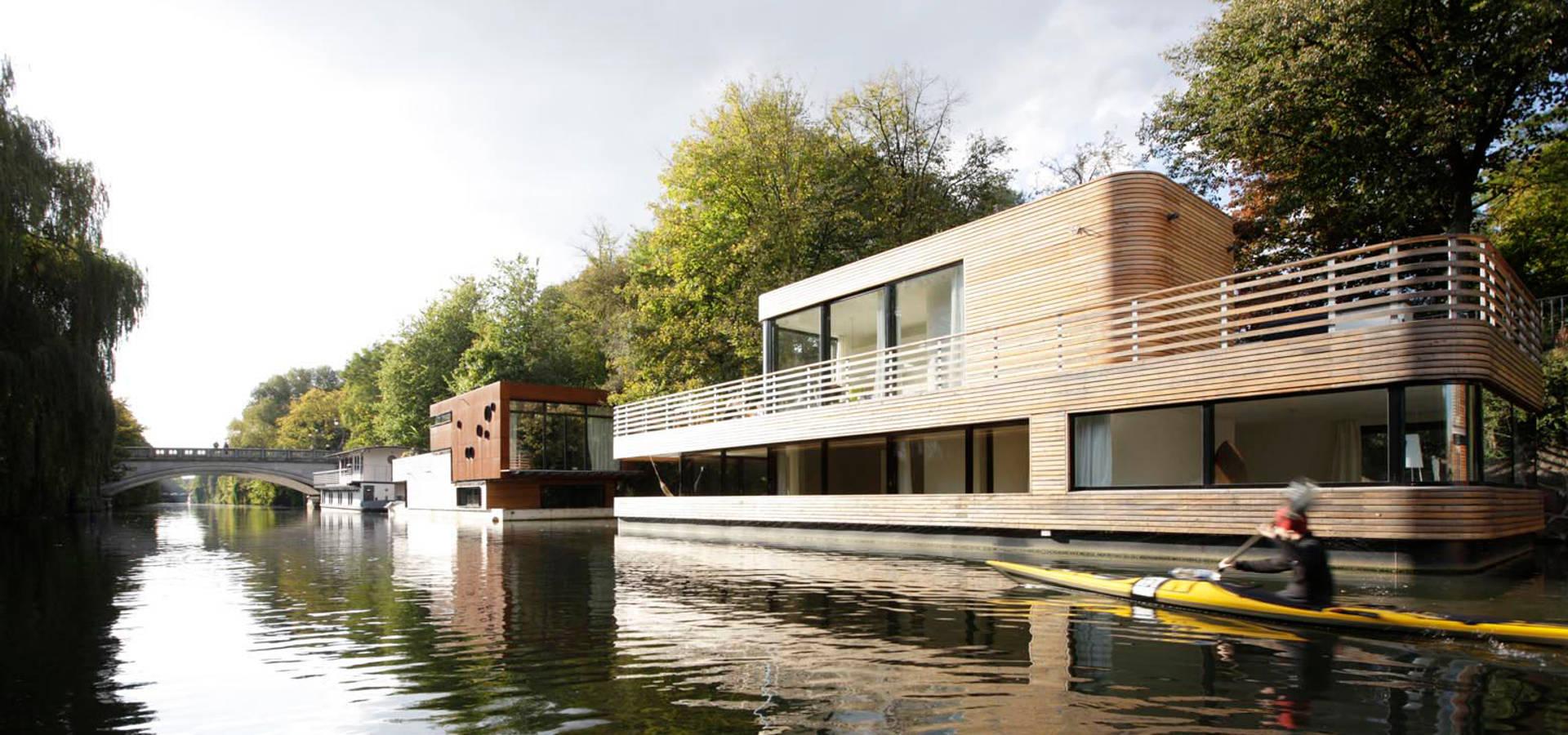 Hausboot Hamburg hausboot lykke l hamburg by rost niderehe architekten i