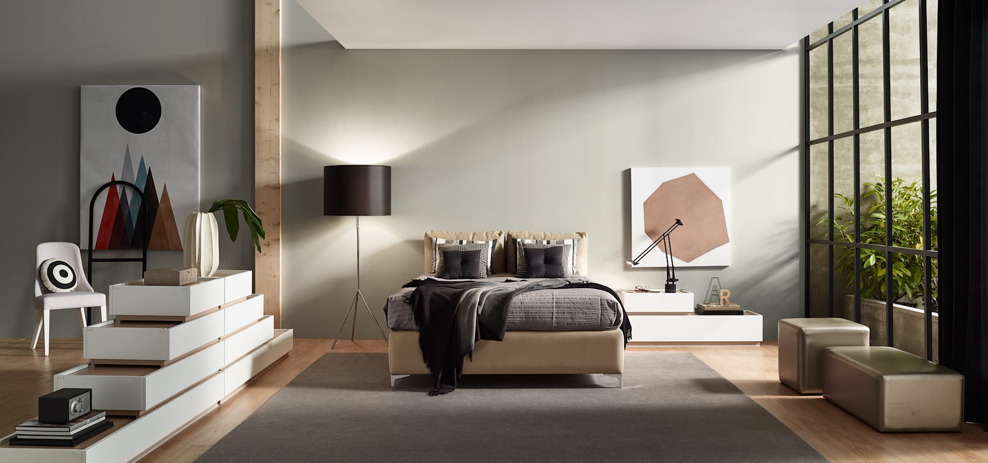 Moverel by moverel ind stria de mobili rio sa homify for Living room 10m2