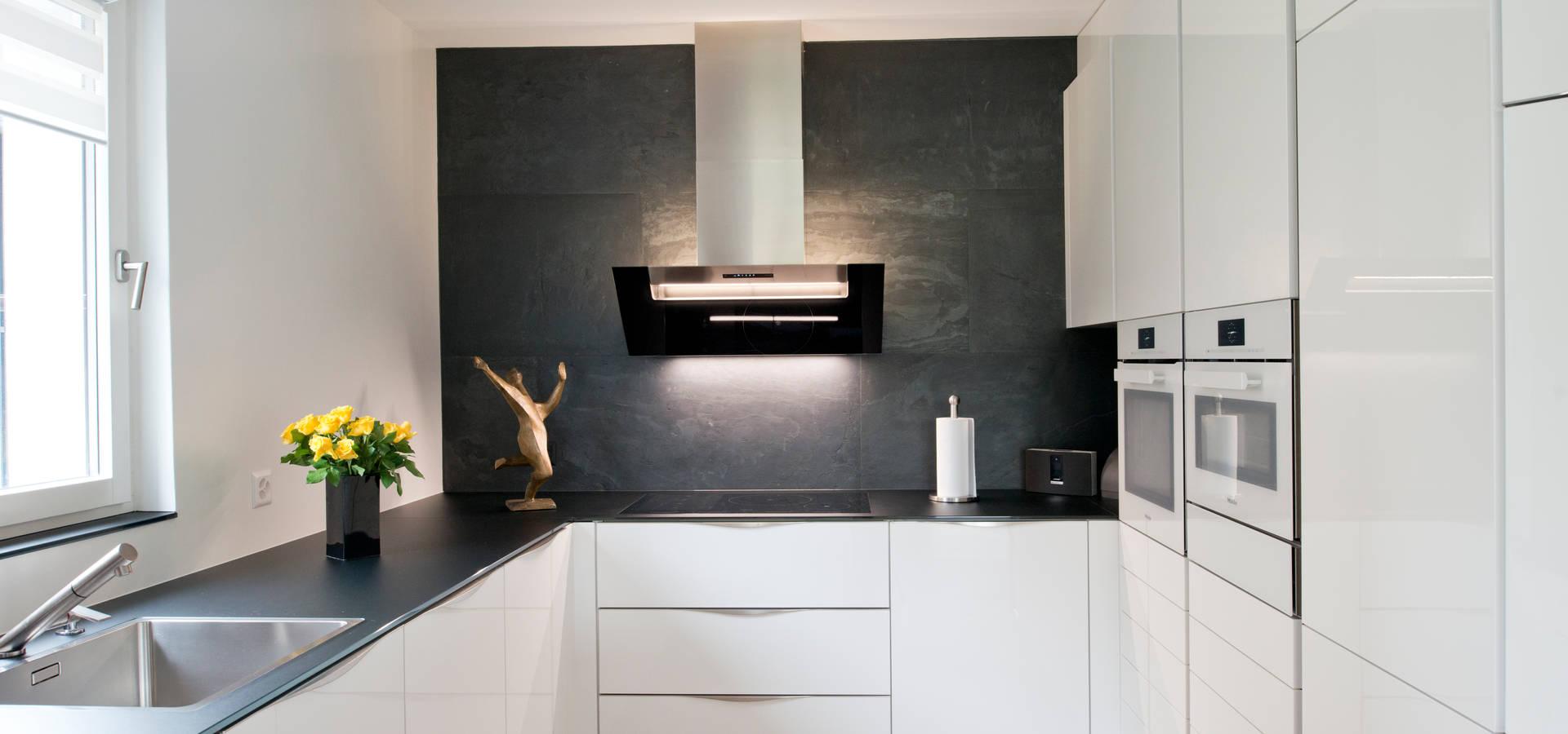 kleine k che kommt gro raus von inpuncto k chen schweiz gmbh homify. Black Bedroom Furniture Sets. Home Design Ideas