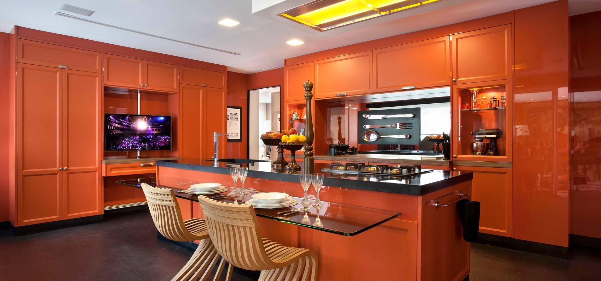 Cozinha Com Varanda Gourmet Por Caco Borges Arquitetura E Interiores