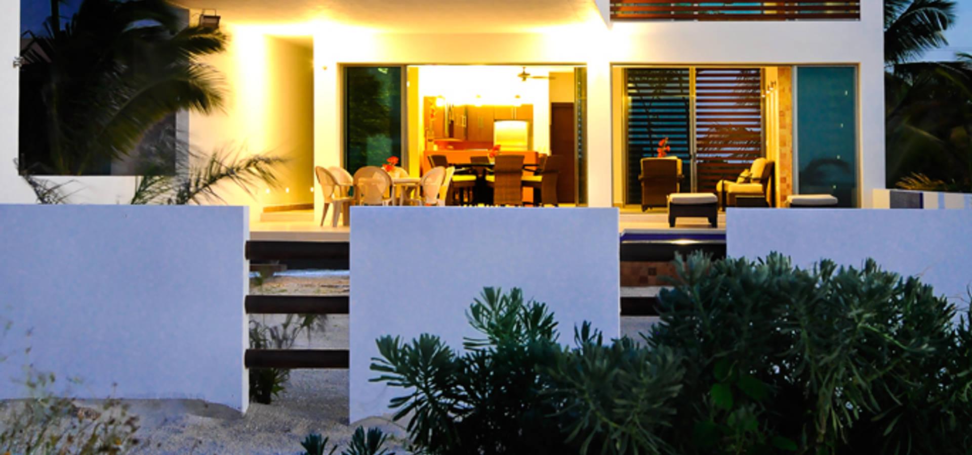Hängeleuchte Modern lizzie valencia arquitectura dise 241 o 의 casa ha uay homify