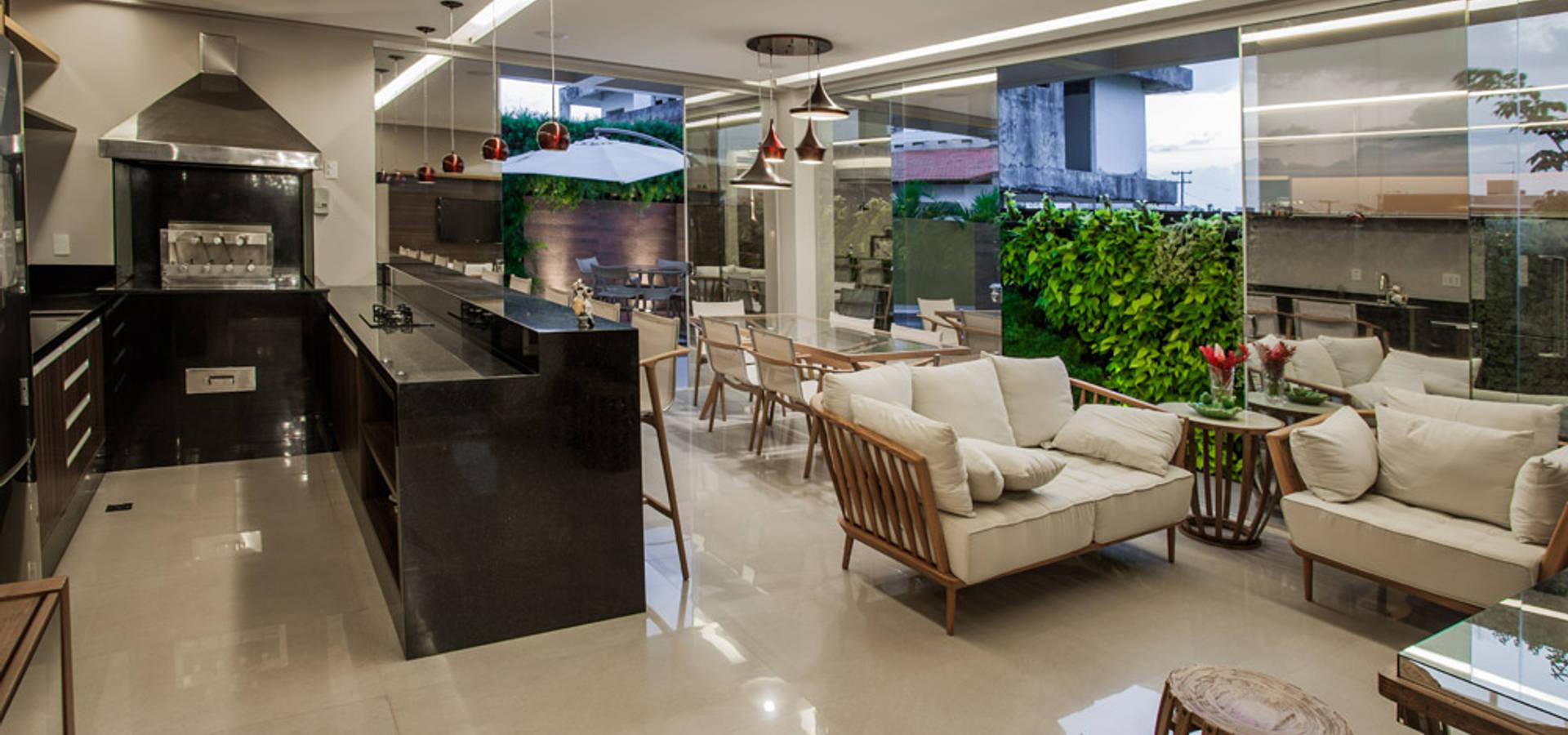Top Varanda gourmet e Piscina por Heloisa Titan Arquitetura | homify QP73