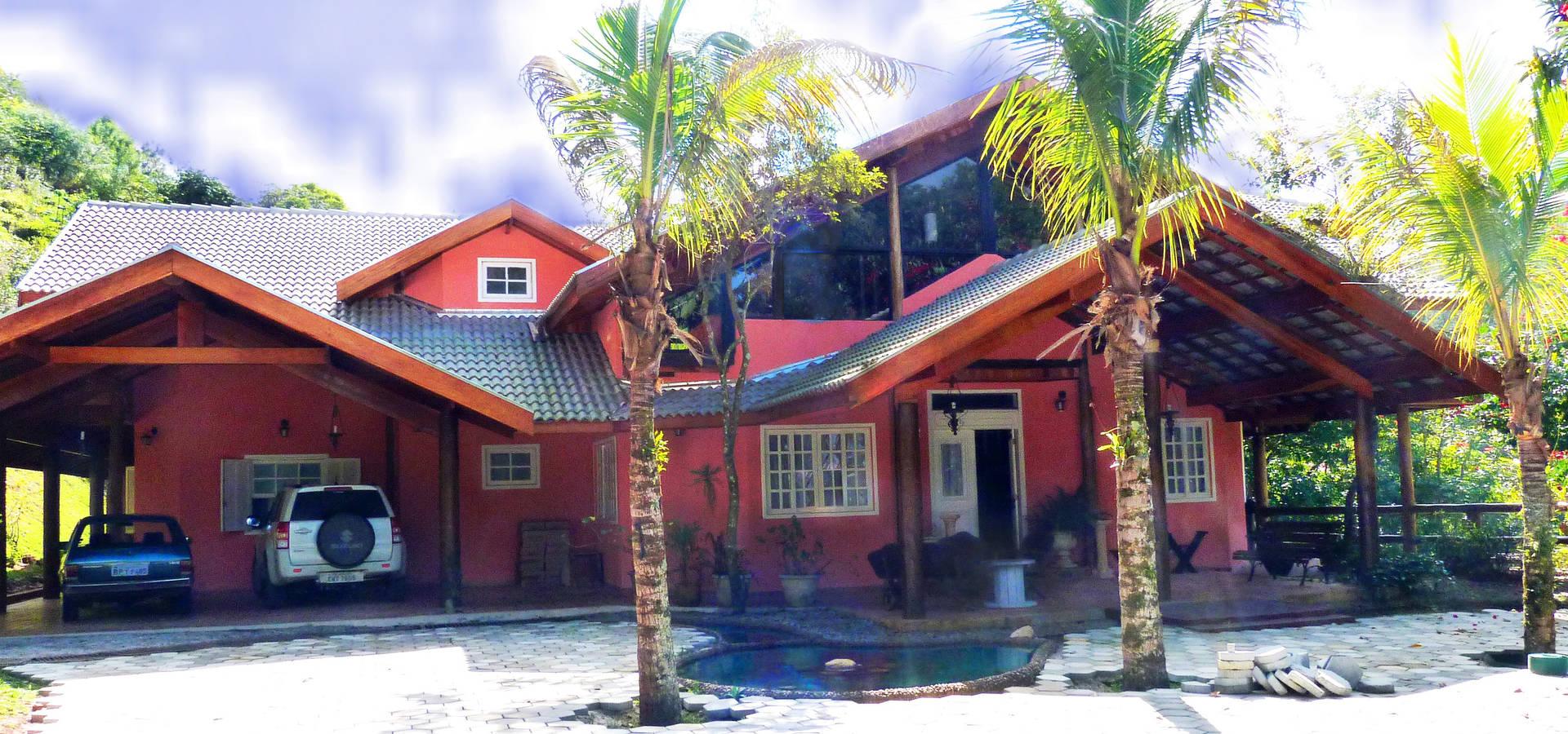 Casa de campo by elisabeth berlato arquitetura interiores for Interiores de casas