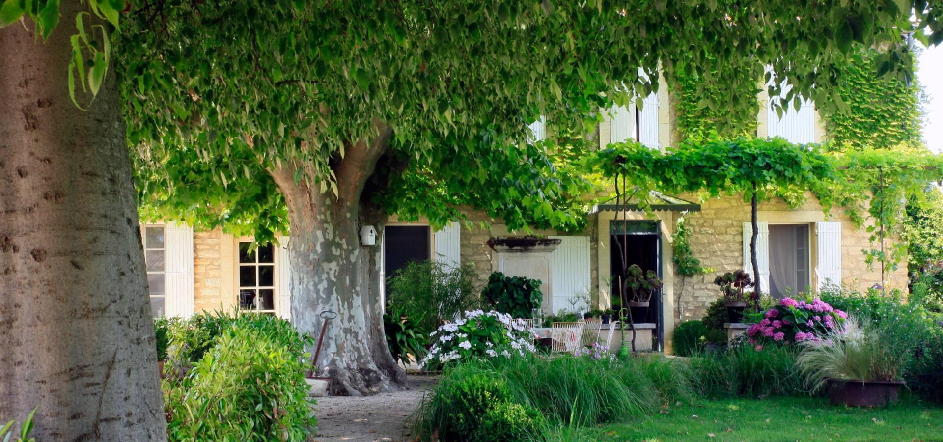Monteux Jardin Champetre By Conceptuelles Paysage Et Decoration