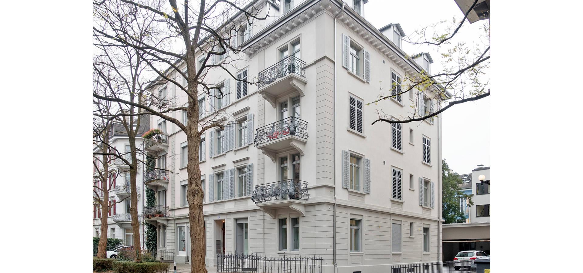 Jugendstil Mehrfamilienhaus Zurich Seefeld By Fastarch