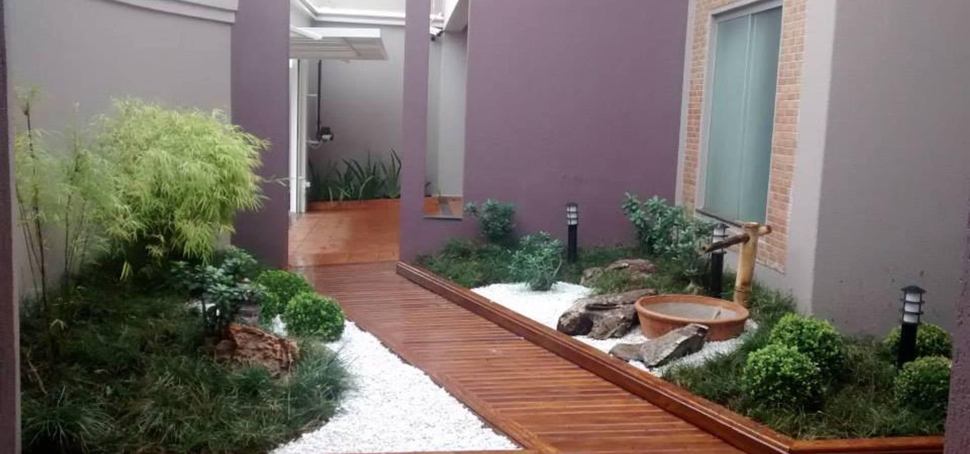 Jardins e fontes por borges arquitetura paisagismo homify for Homify jardines pequenos