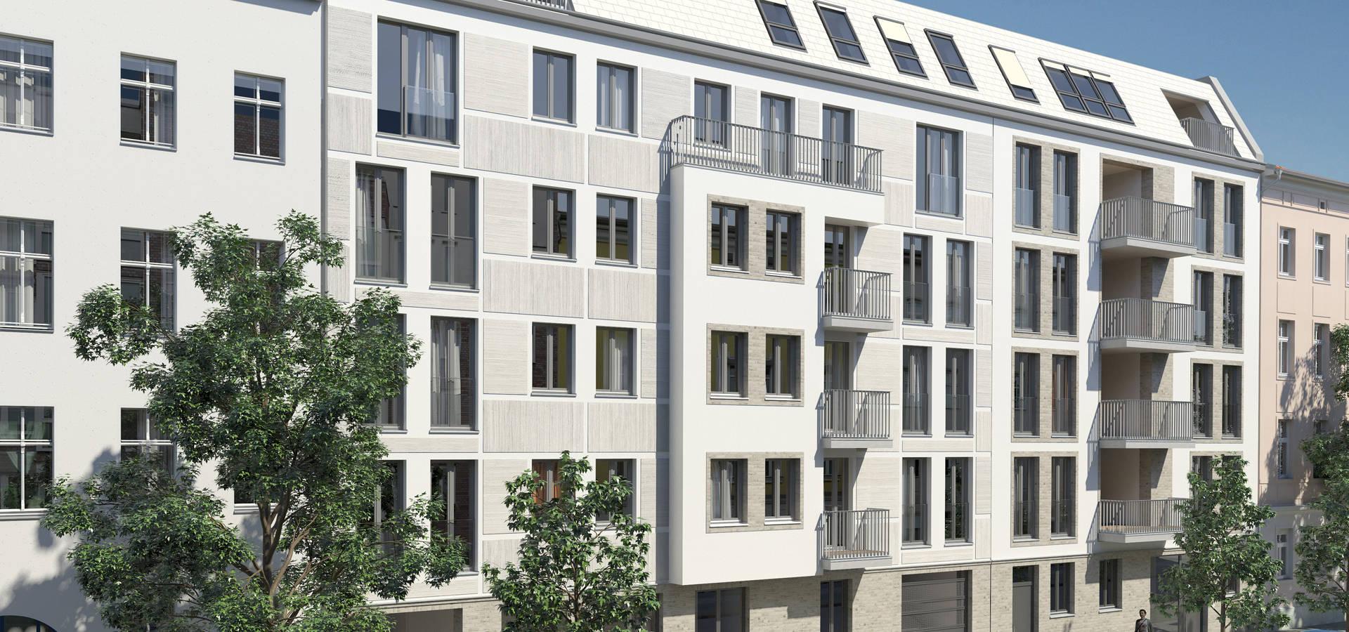 wohnungsbau b rnestra e 4 6 in berlin wei ensee von 3d labor homify. Black Bedroom Furniture Sets. Home Design Ideas