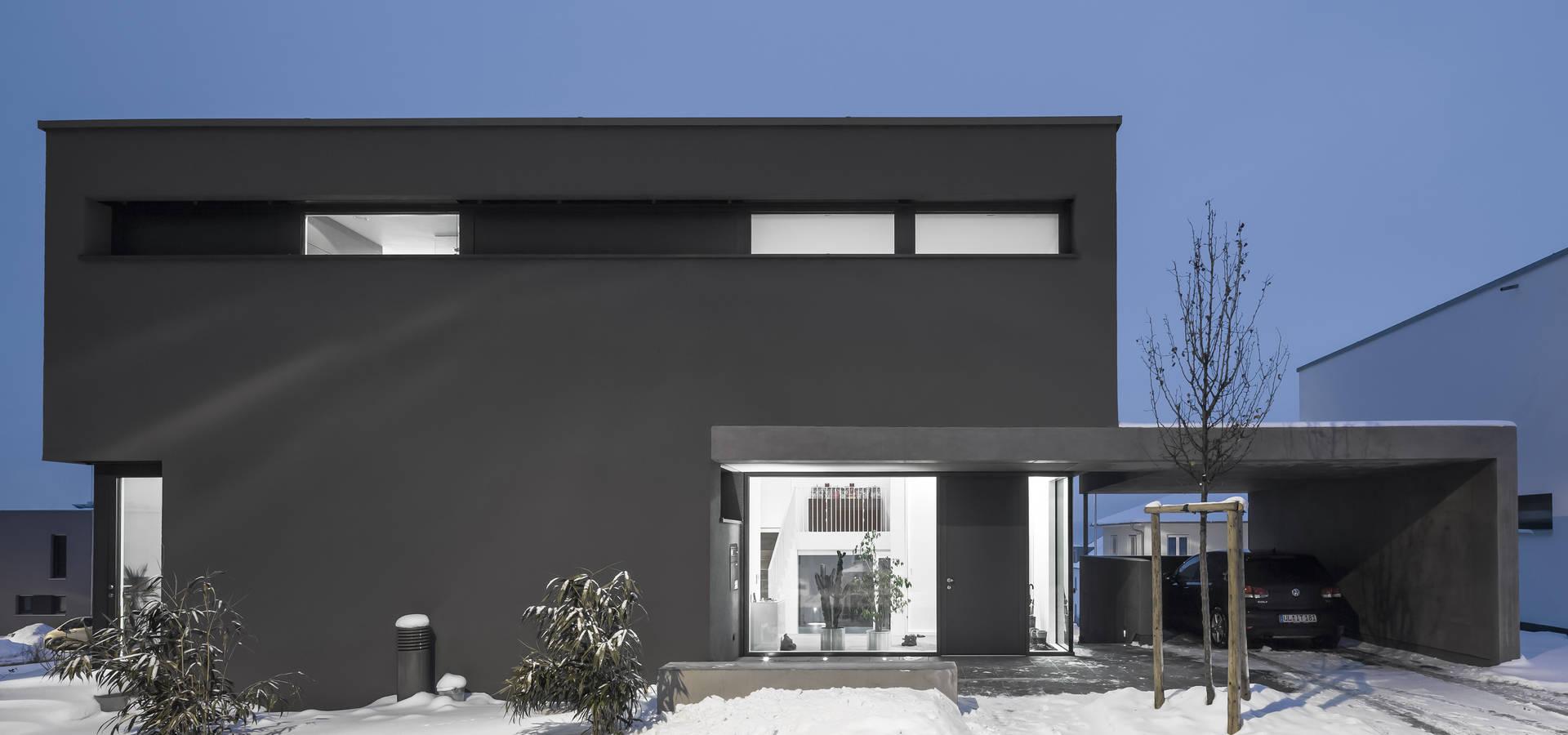 Um neubau wohnhaus m por for Wohnhaus modern