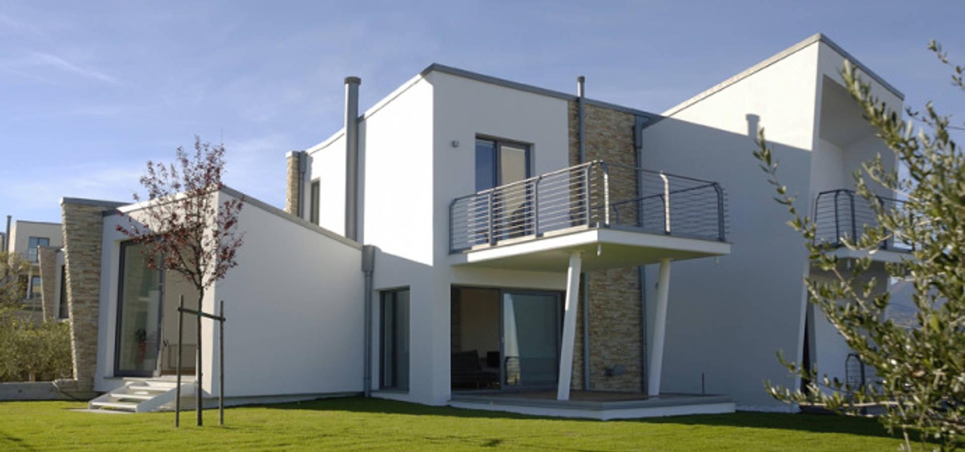 Complesso residenziale mirante di pomp0ni associati srl for Piani e progetti di case contemporanee