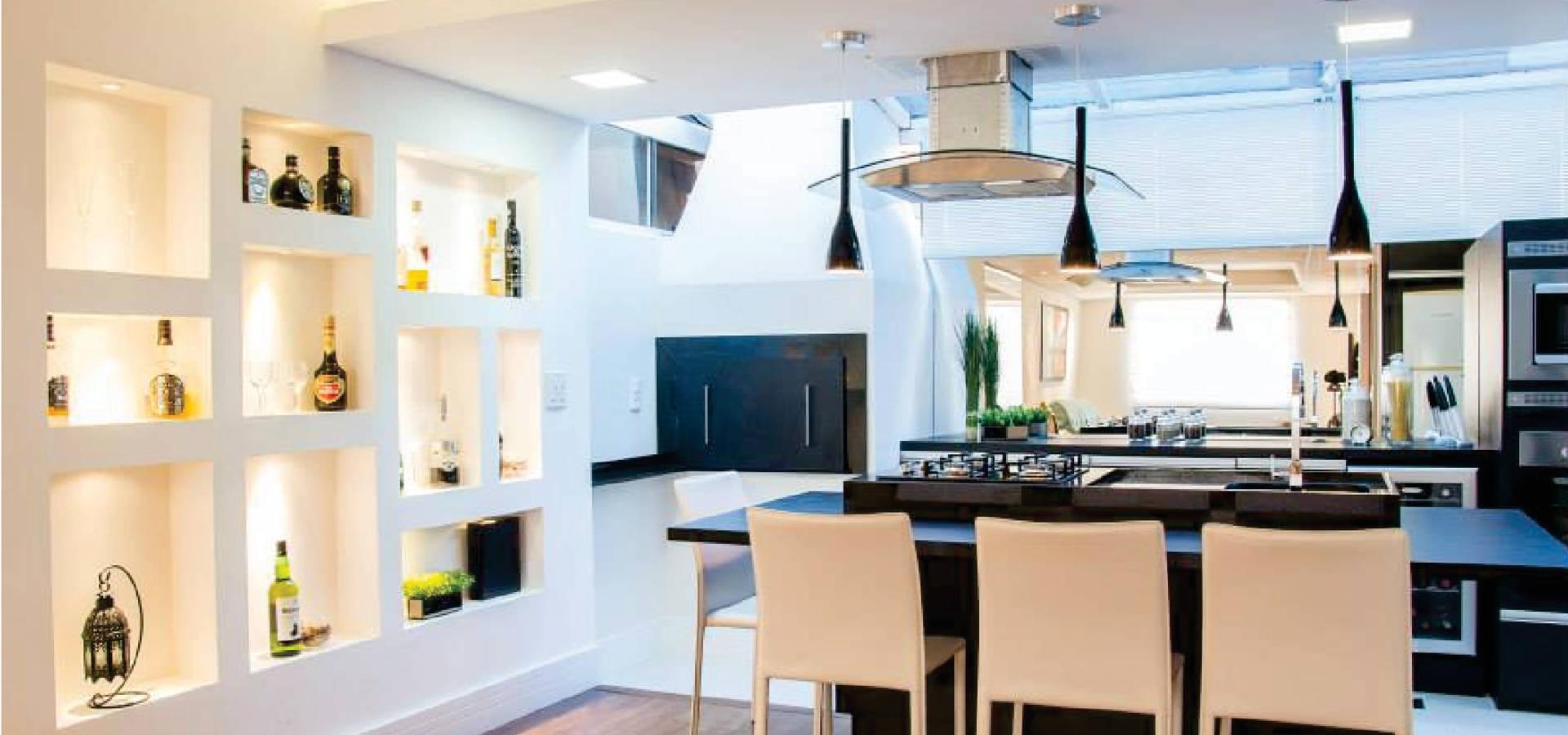 Cozinha Integrada Gourmet Por Priscila Acosta Arquitetura Homify