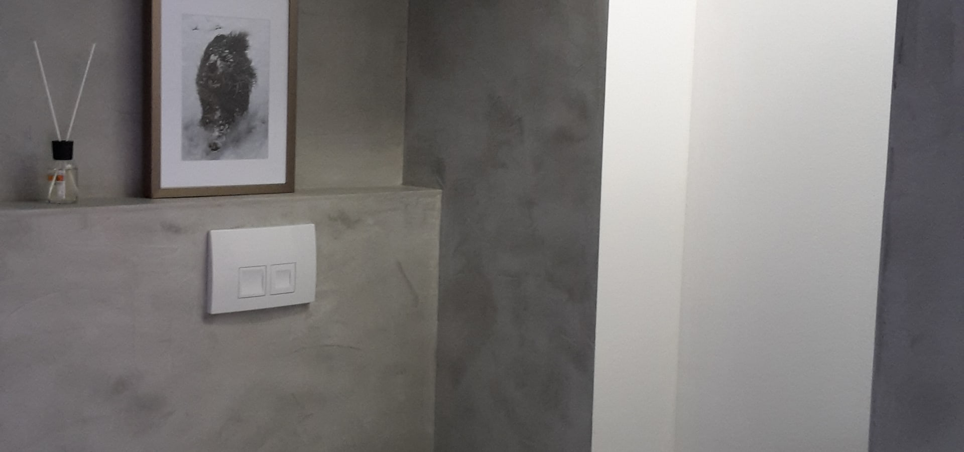 beton cire badgestaltung fugenlose gestaltung by robert mergl homify. Black Bedroom Furniture Sets. Home Design Ideas