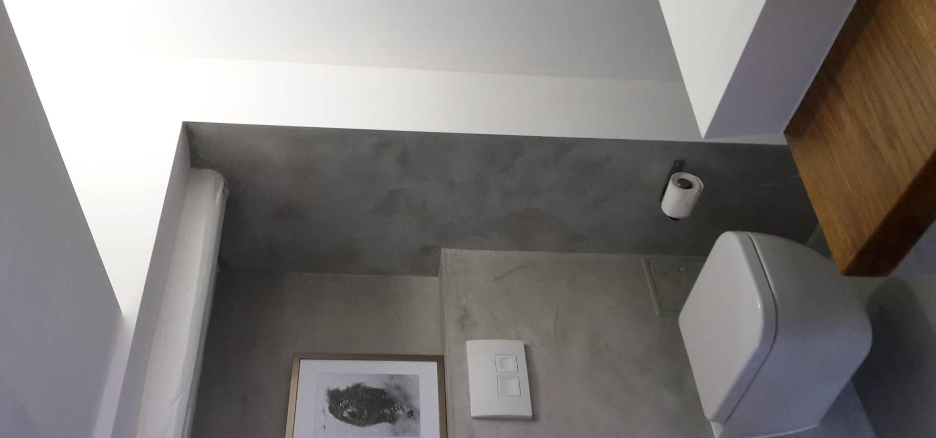 beton cire micro topping concrete surface profesjonalista robert mergl homify. Black Bedroom Furniture Sets. Home Design Ideas