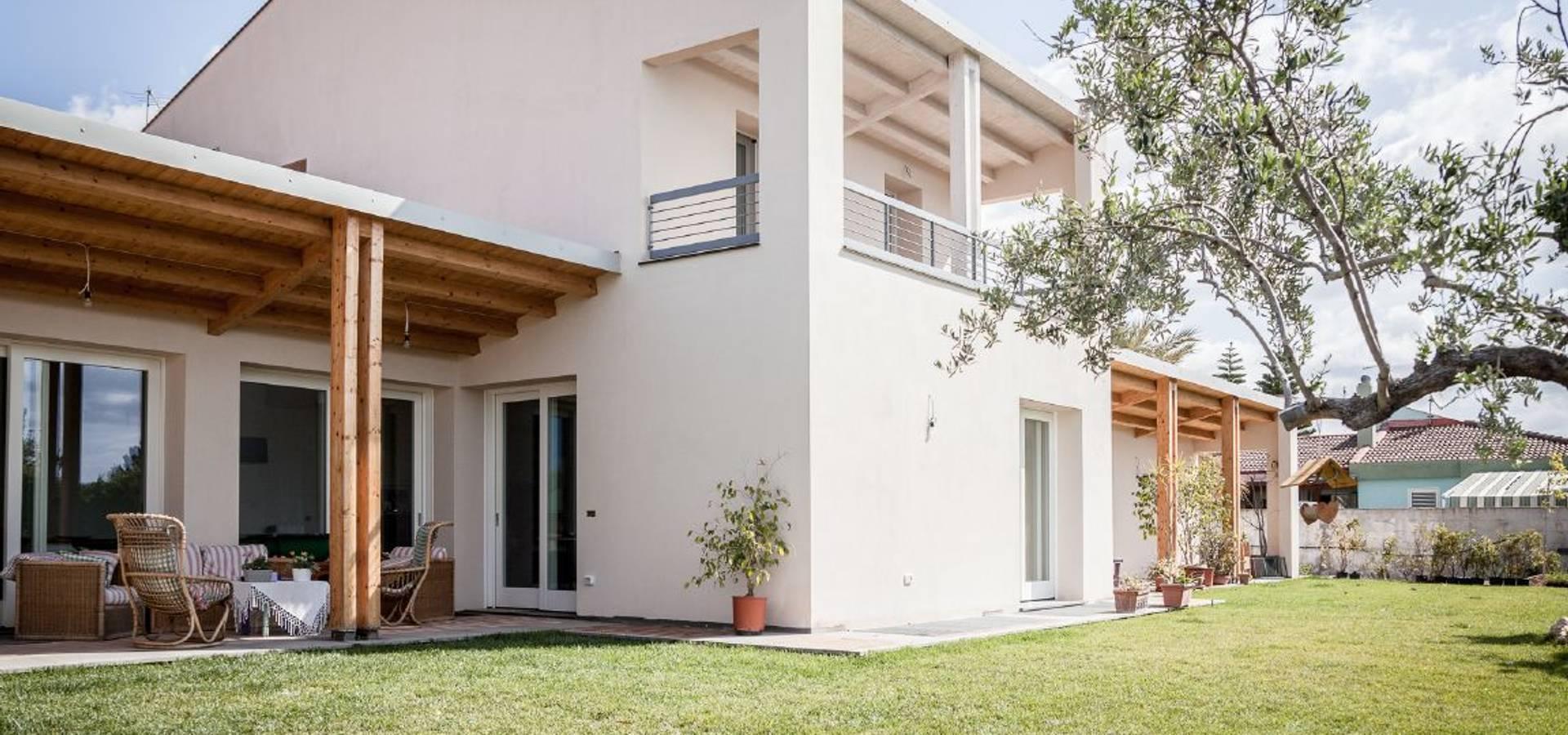 casa mediterranea ad alta efficienza energetica a e d