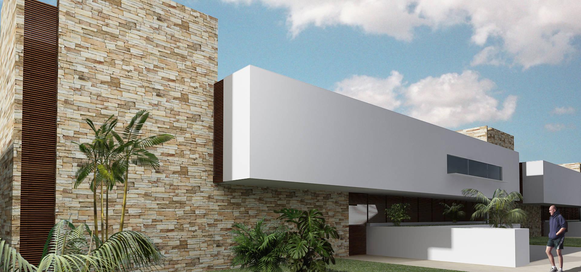 casa me by carco arquitectura y construccion homify
