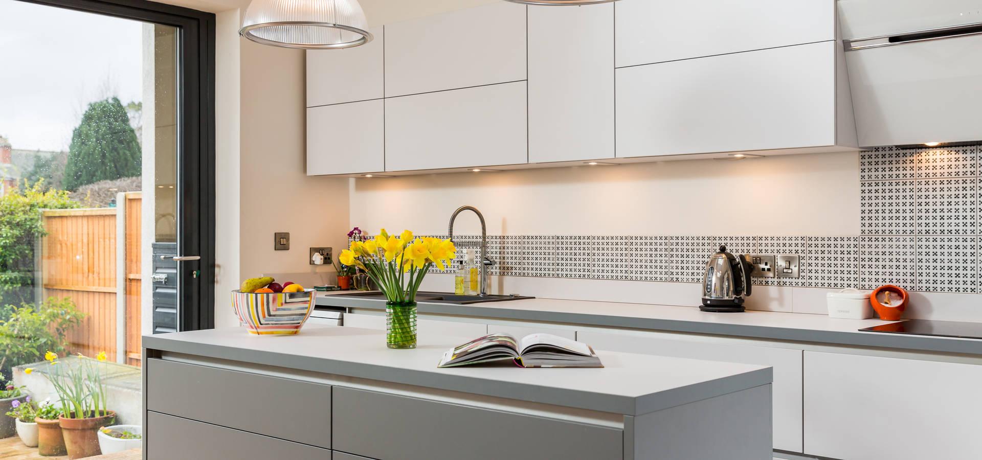 Eco german kitchens dise adores de cocinas en winchester homify - Disenadores de cocinas ...