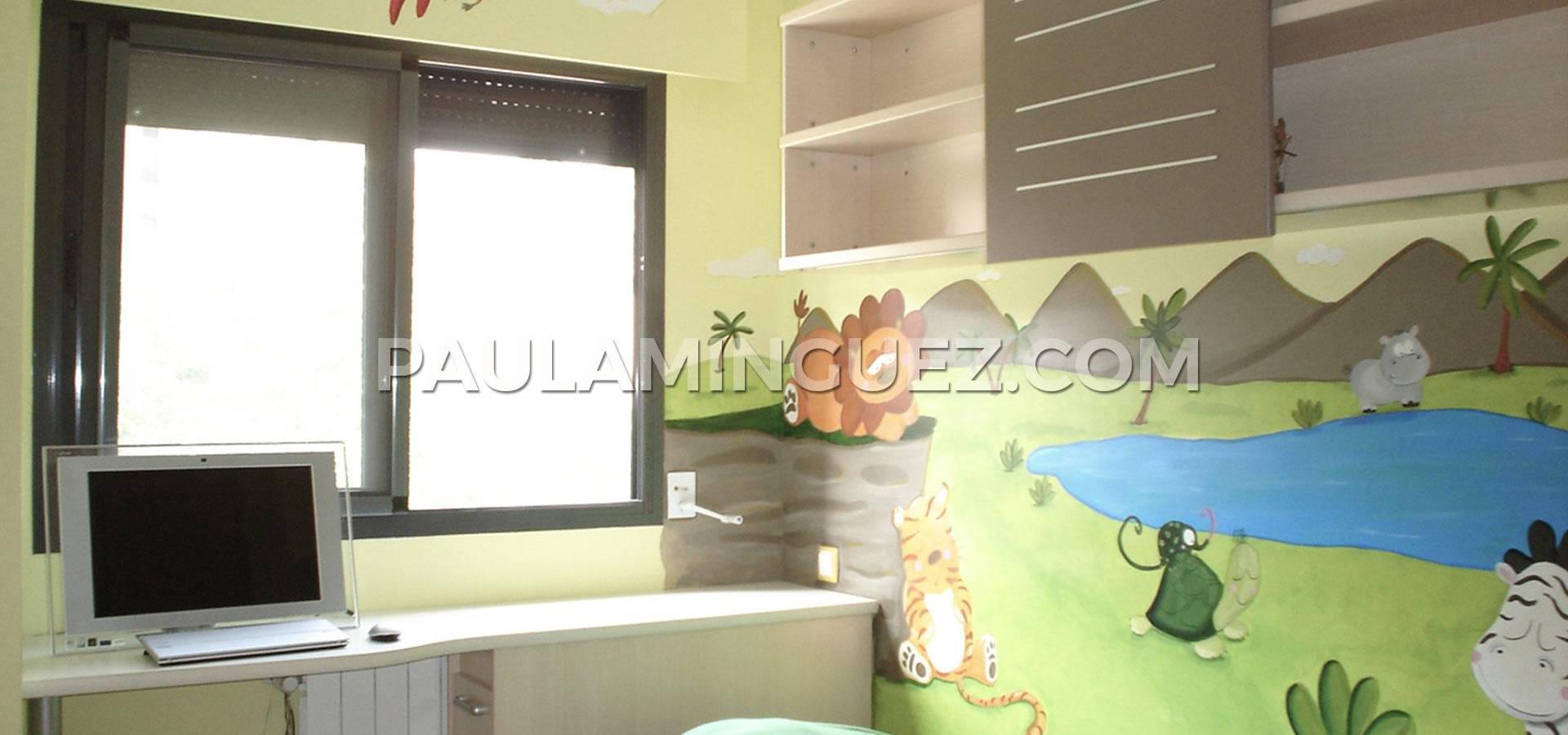 Murales Y Cuadros Por Paula M Nguez Pintores En Madrid Homify ~ Murales Decorativos Para Habitaciones De Adultos