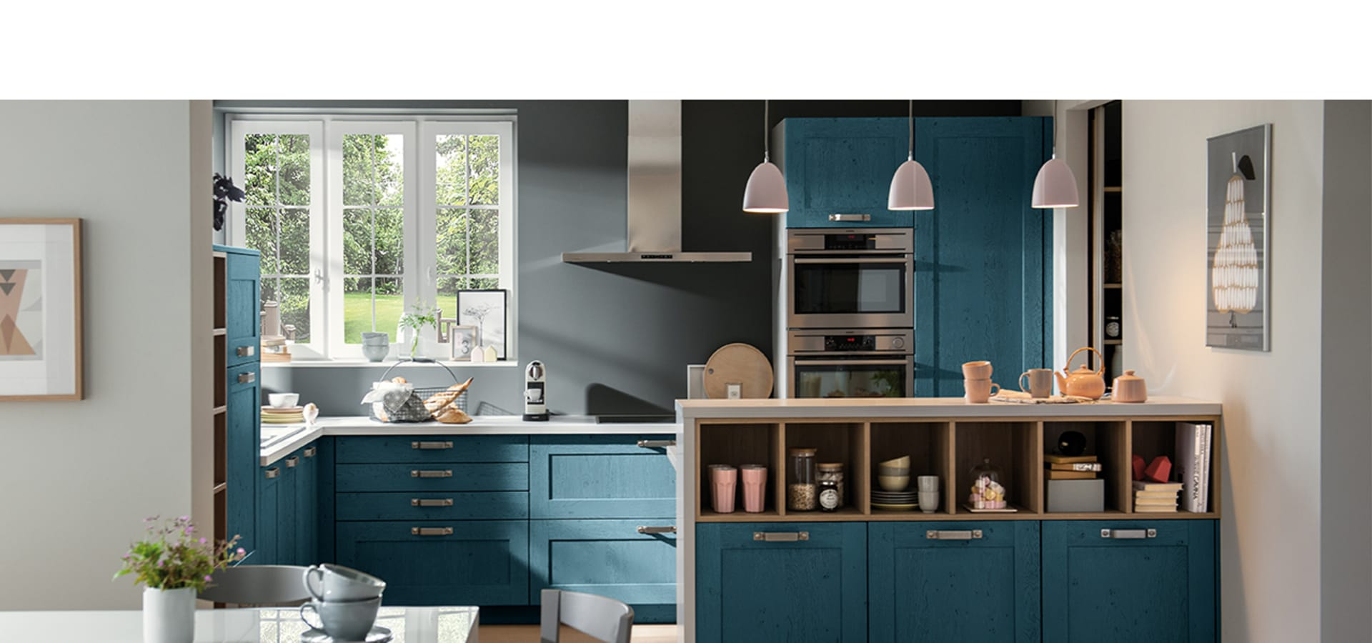 Schmidt kitchens barnet kitchen manufacturers in london for Contemporary shaker style kitchen