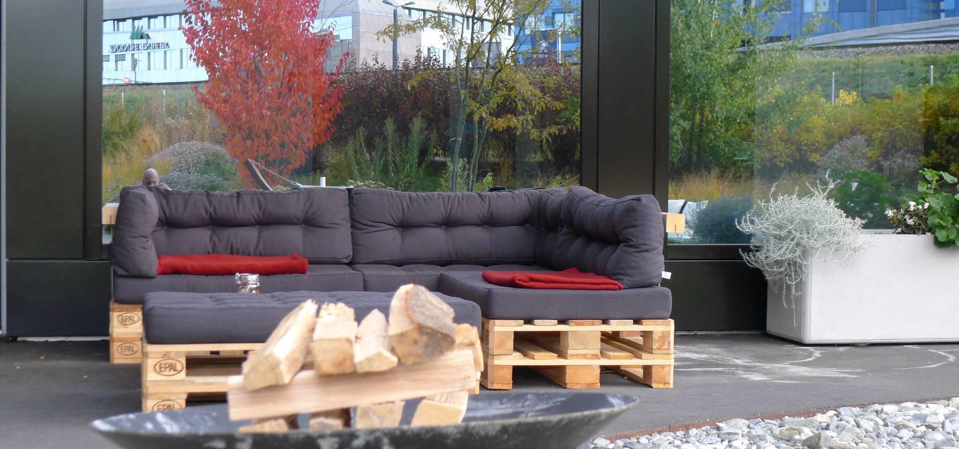 Loungebereich by Florian Kirchner - Palettenliebe.de | homify