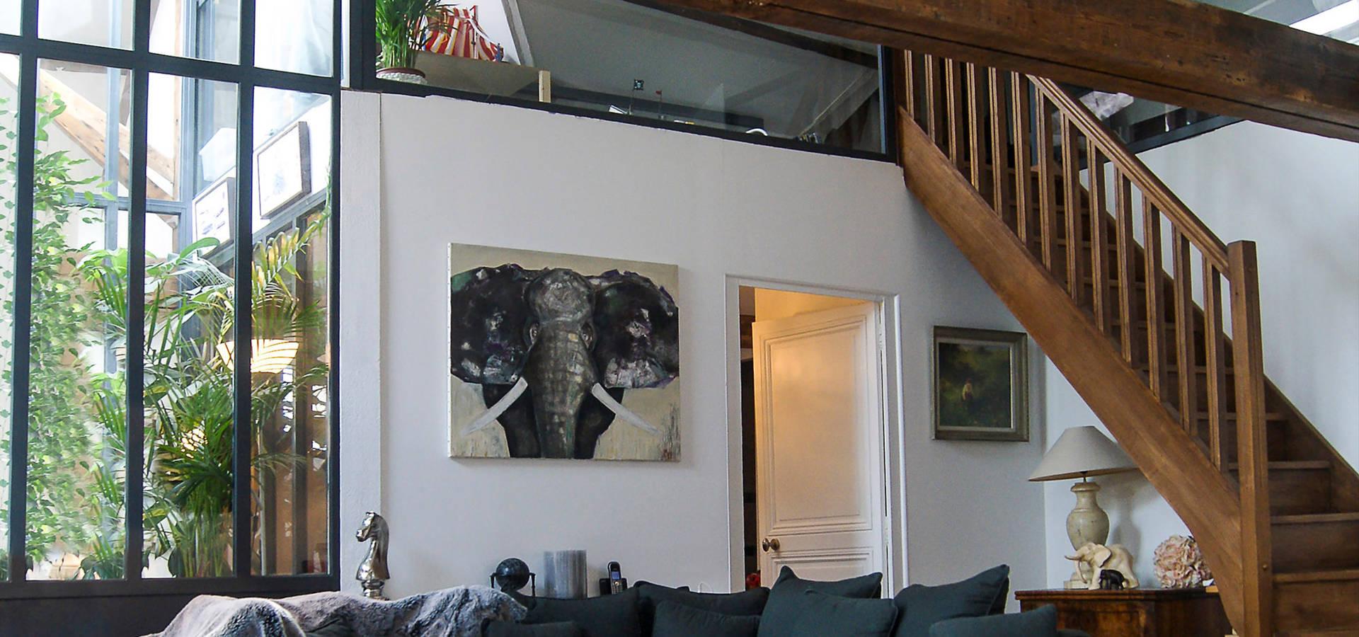 plast architectes projet l r habilitation de greniers en appartement familial homify. Black Bedroom Furniture Sets. Home Design Ideas