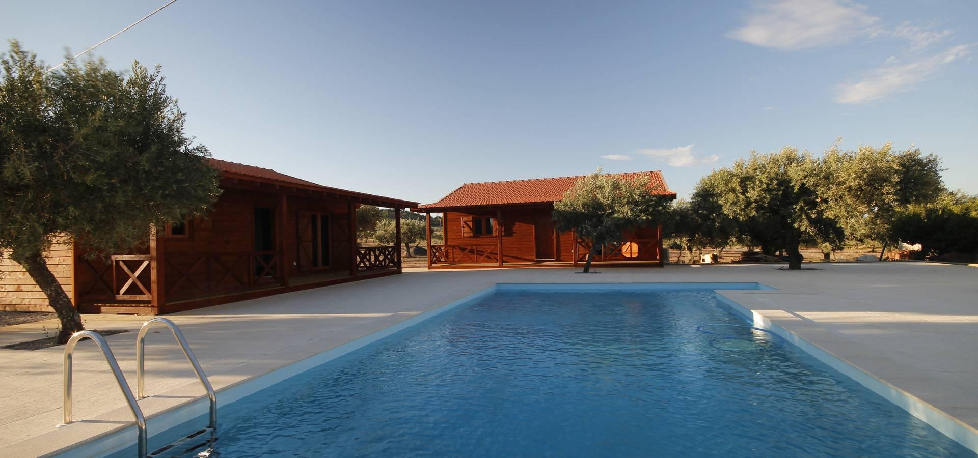 Ecositana casas de madeira portugal construtores em - Casas de madera en portugal ...