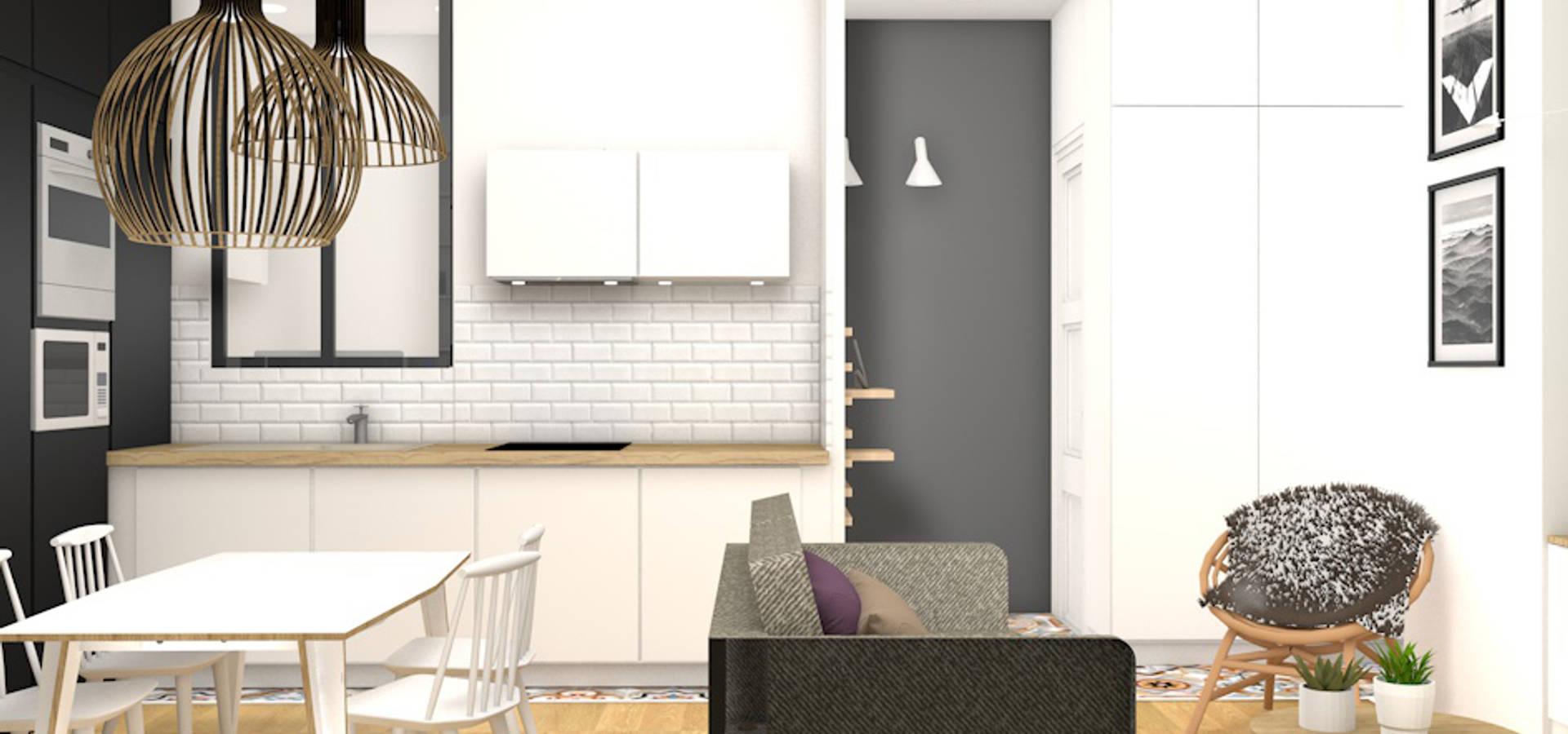 camille basse architecte d 39 int rieur r novation d 39 un. Black Bedroom Furniture Sets. Home Design Ideas