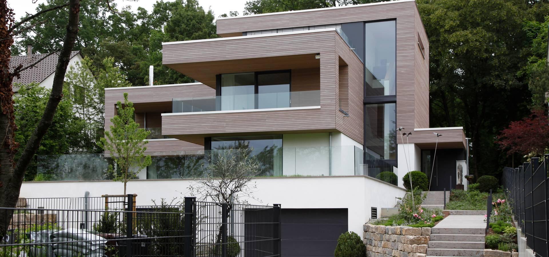 villa in ludwigsburg von birke architekten homify. Black Bedroom Furniture Sets. Home Design Ideas