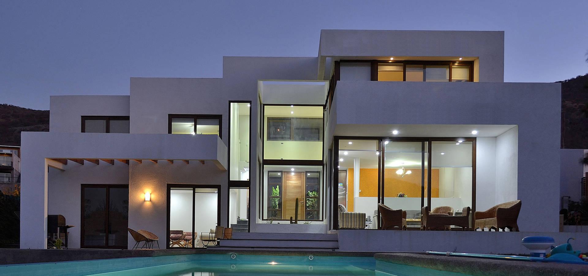 Casa moderna 1 par marcelo roura arquitectos homify - Maison s par domenack arquitectos ...